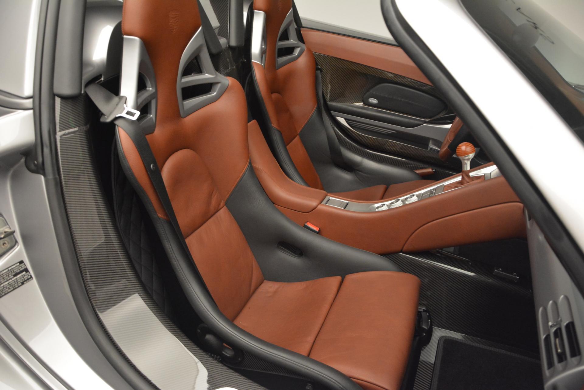 Used 2005 Porsche Carrera GT  For Sale In Greenwich, CT. Alfa Romeo of Greenwich, 7114 108_p23