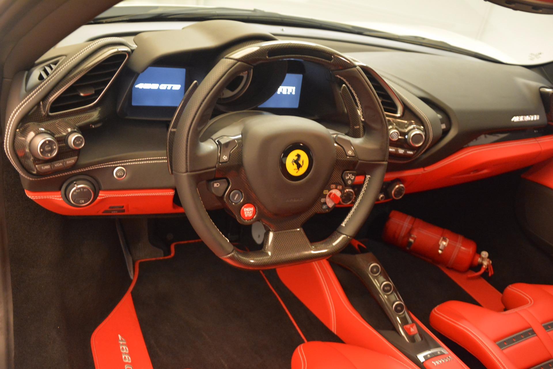 Used 2016 Ferrari 488 GTB  For Sale In Greenwich, CT. Alfa Romeo of Greenwich, 4384 1080_p16