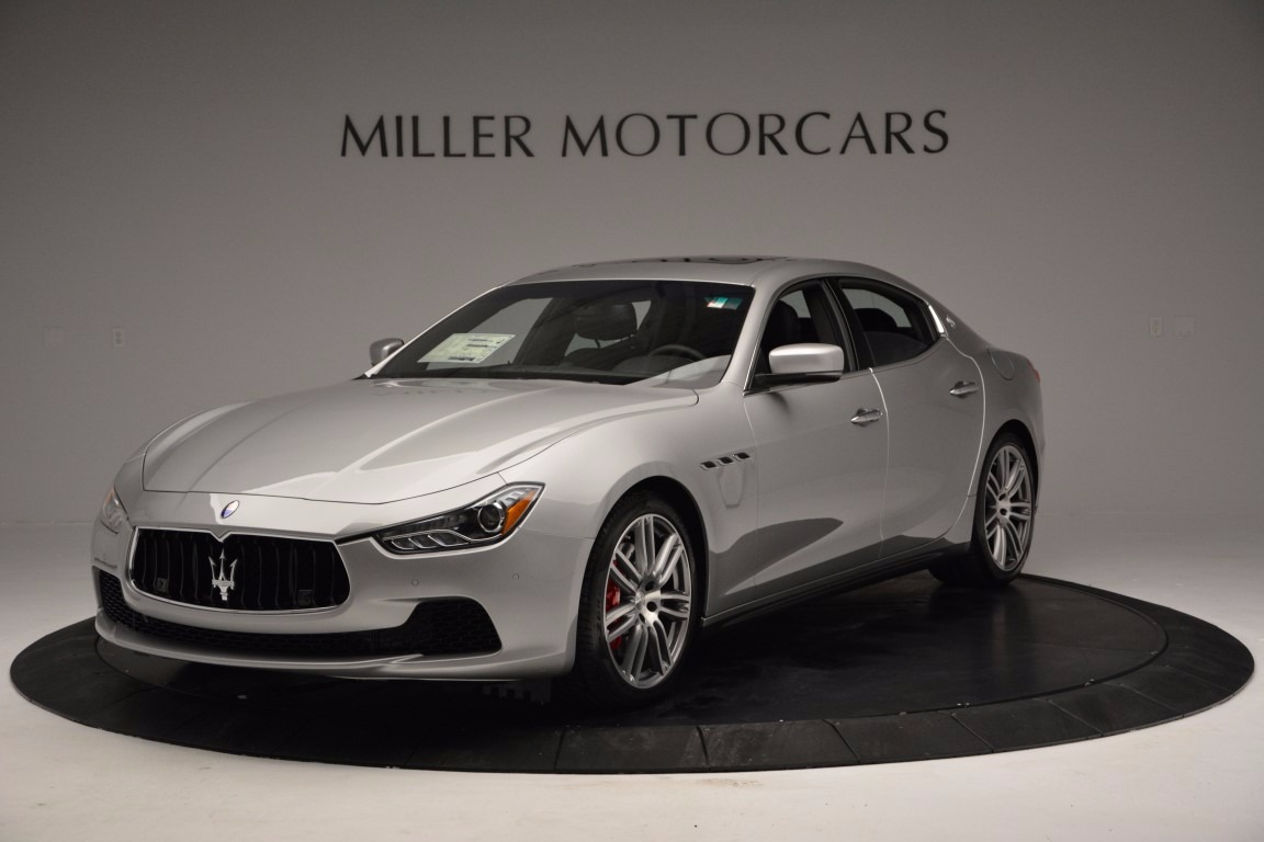 New 2017 Maserati Ghibli S Q4 For Sale In Greenwich, CT. Alfa Romeo of Greenwich, M1838 1084_main