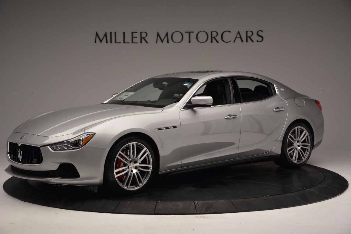 New 2017 Maserati Ghibli S Q4 For Sale In Greenwich, CT. Alfa Romeo of Greenwich, M1838 1084_p2