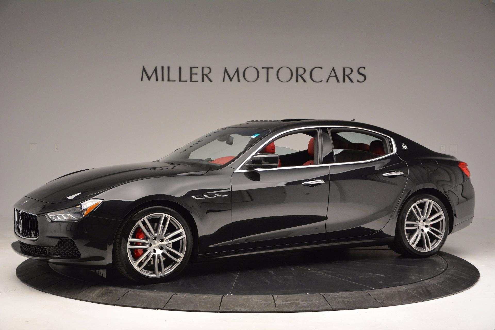 New 2017 Maserati Ghibli SQ4 For Sale In Greenwich, CT. Alfa Romeo of Greenwich, M1840 1086_p3