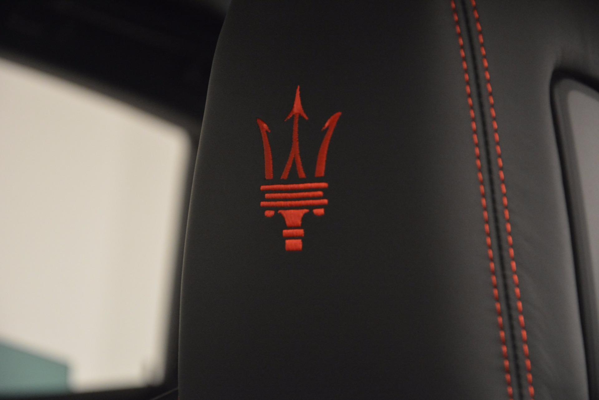 New 2017 Maserati Levante S Q4 For Sale In Greenwich, CT. Alfa Romeo of Greenwich, W436 1094_p18