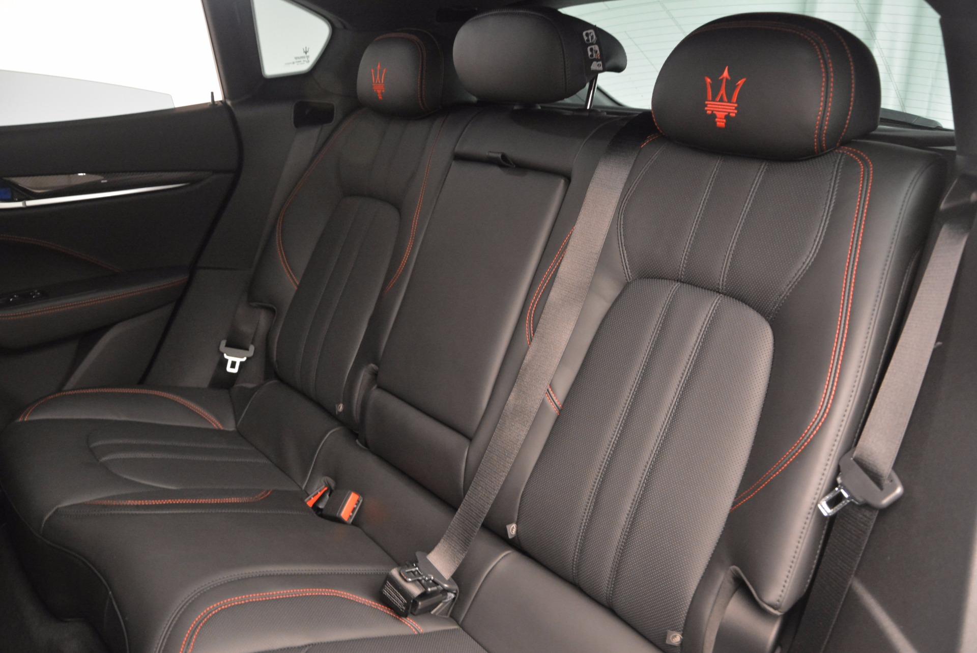 New 2017 Maserati Levante S Q4 For Sale In Greenwich, CT. Alfa Romeo of Greenwich, W436 1094_p21