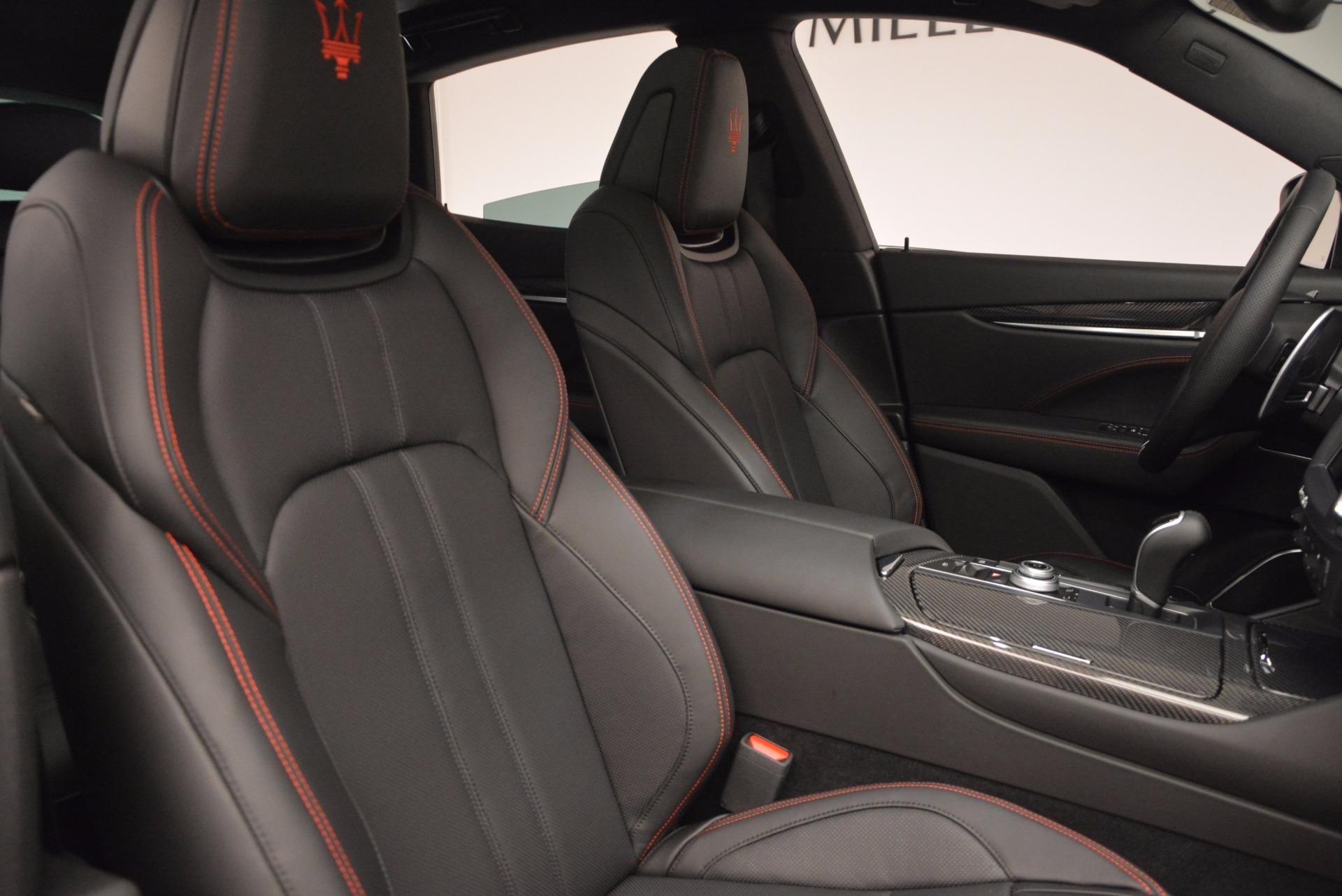 New 2017 Maserati Levante S Q4 For Sale In Greenwich, CT. Alfa Romeo of Greenwich, W436 1094_p24
