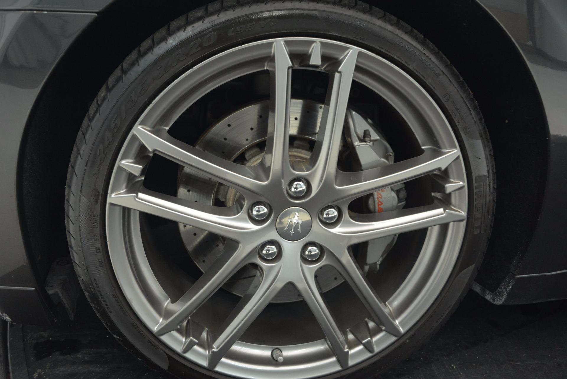 Used 2012 Maserati GranTurismo Sport For Sale In Greenwich, CT. Alfa Romeo of Greenwich, A1225A 1097_p20