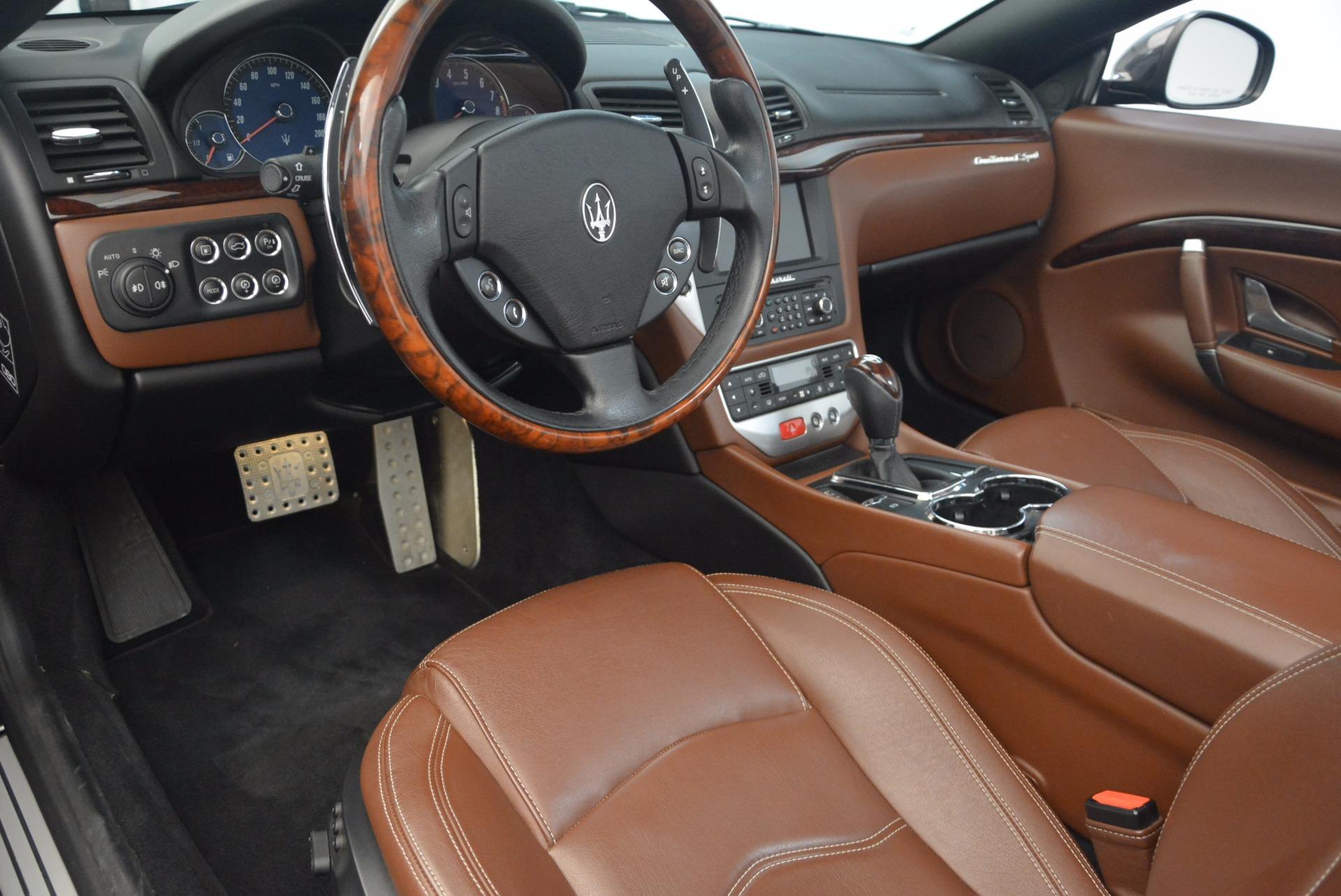 Used 2012 Maserati GranTurismo Sport For Sale In Greenwich, CT. Alfa Romeo of Greenwich, A1225A 1097_p21