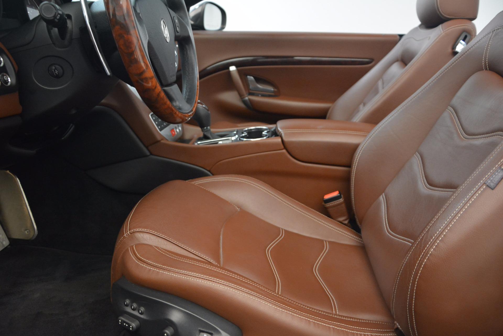 Used 2012 Maserati GranTurismo Sport For Sale In Greenwich, CT. Alfa Romeo of Greenwich, A1225A 1097_p22