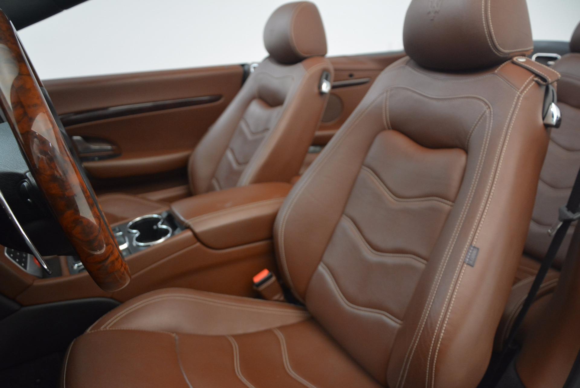 Used 2012 Maserati GranTurismo Sport For Sale In Greenwich, CT. Alfa Romeo of Greenwich, A1225A 1097_p23