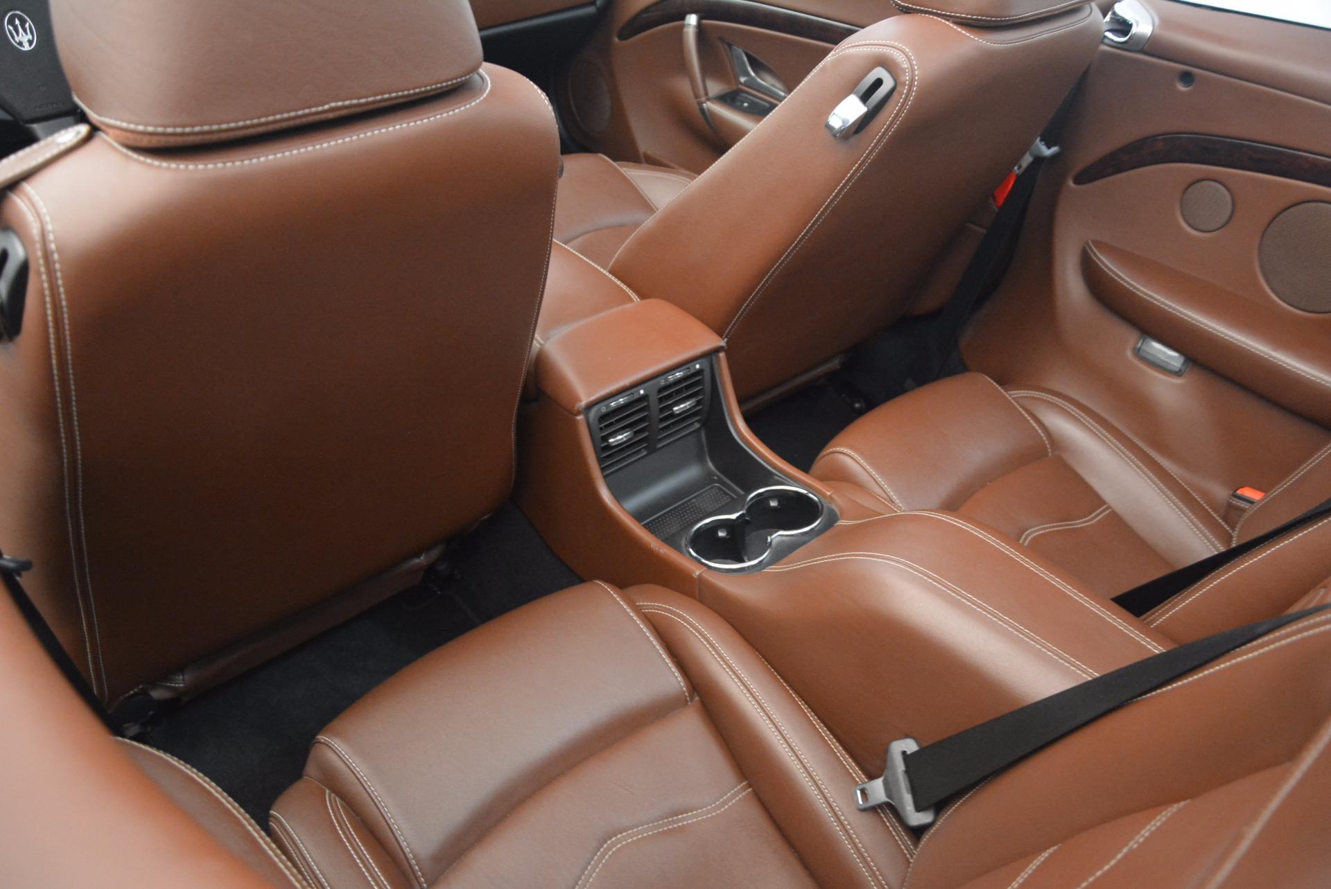 Used 2012 Maserati GranTurismo Sport For Sale In Greenwich, CT. Alfa Romeo of Greenwich, A1225A 1097_p24