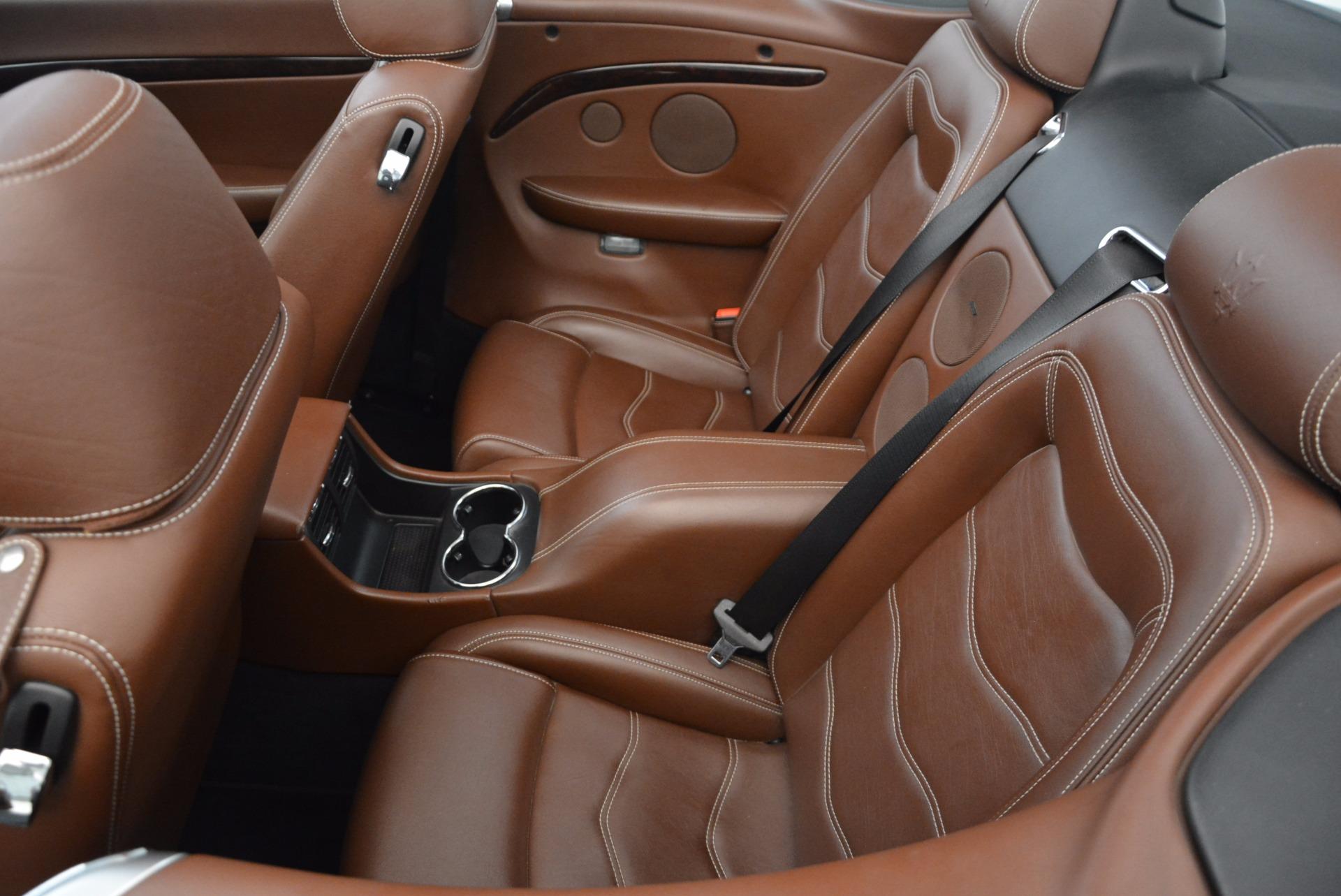 Used 2012 Maserati GranTurismo Sport For Sale In Greenwich, CT. Alfa Romeo of Greenwich, A1225A 1097_p25