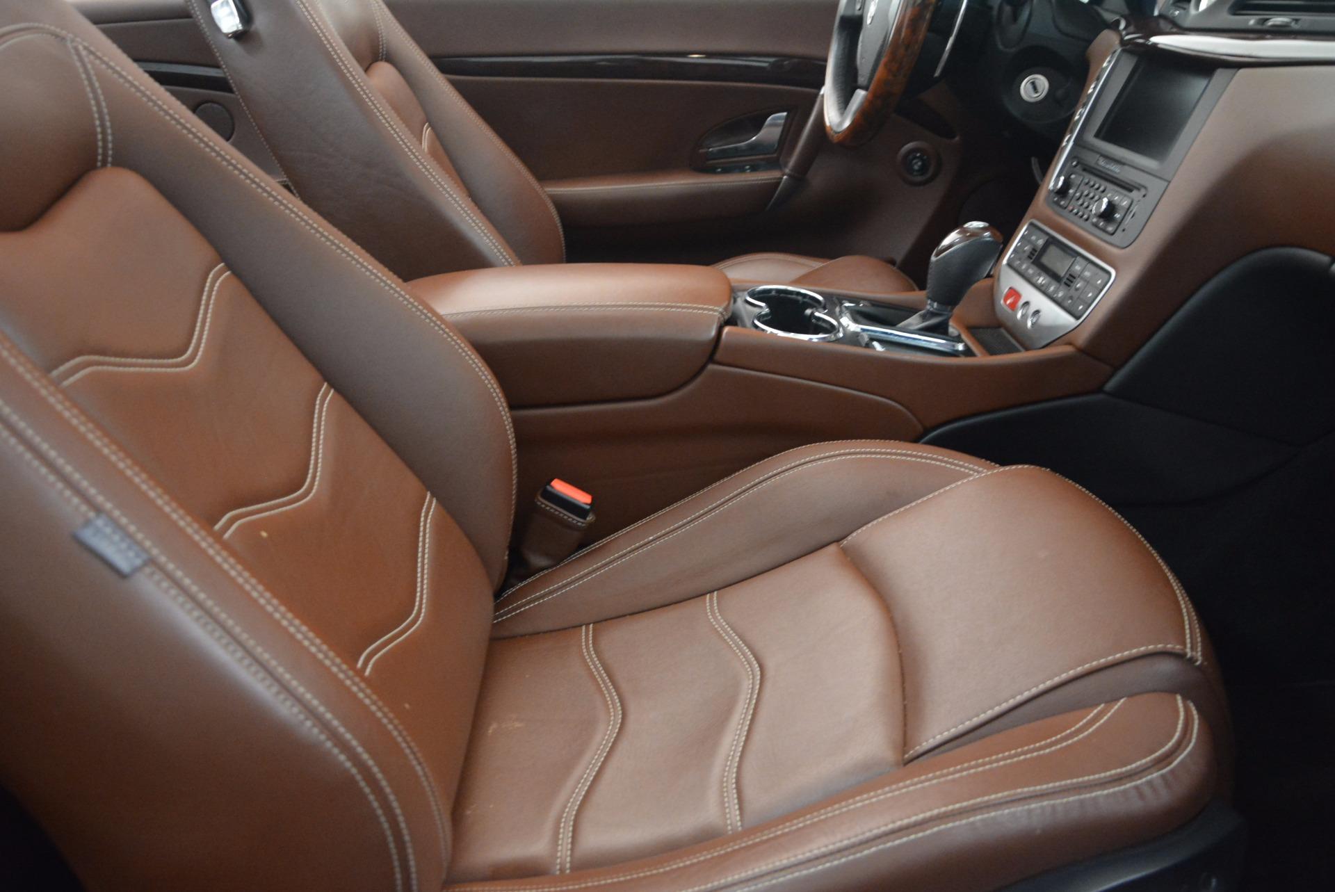 Used 2012 Maserati GranTurismo Sport For Sale In Greenwich, CT. Alfa Romeo of Greenwich, A1225A 1097_p28