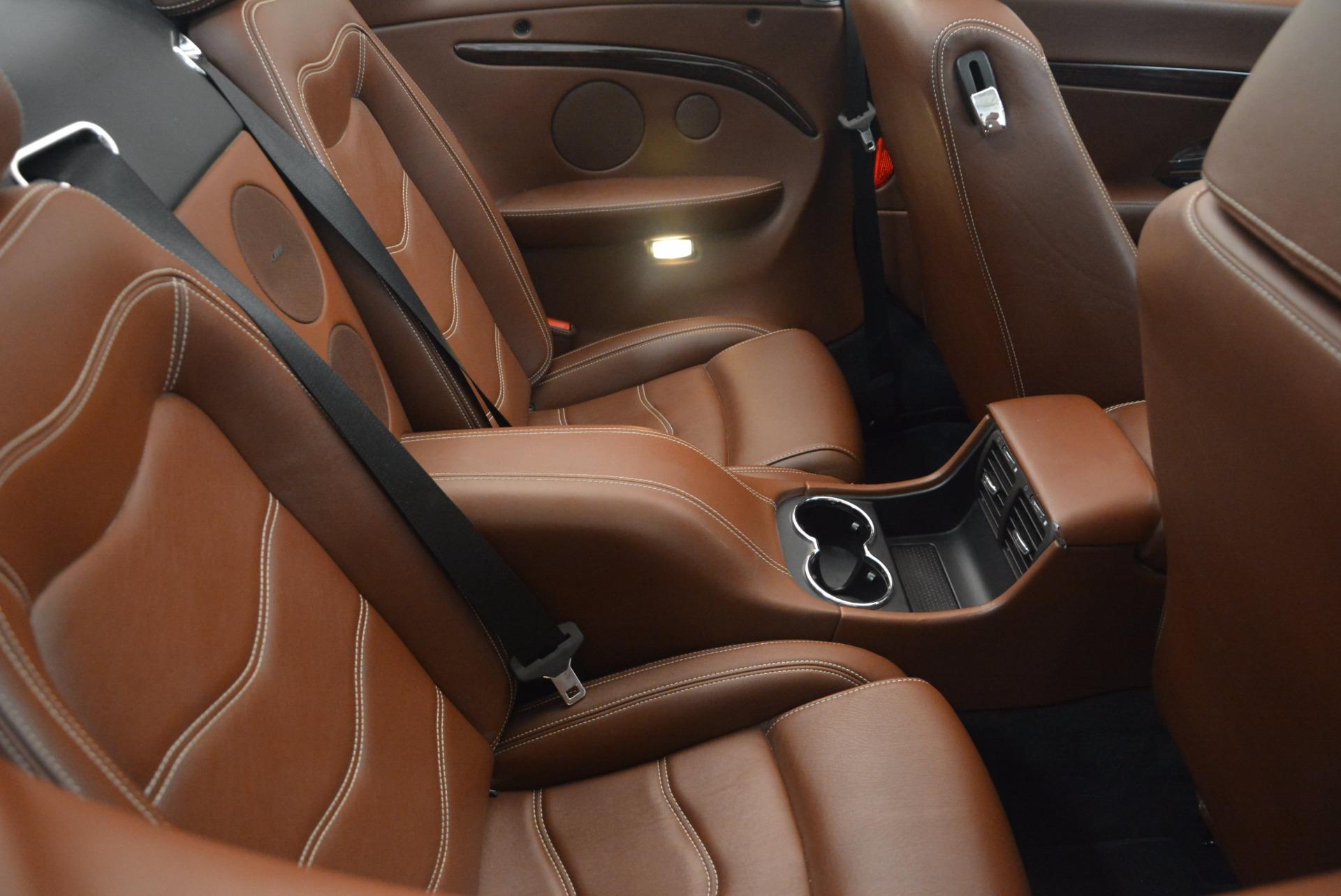 Used 2012 Maserati GranTurismo Sport For Sale In Greenwich, CT. Alfa Romeo of Greenwich, A1225A 1097_p32
