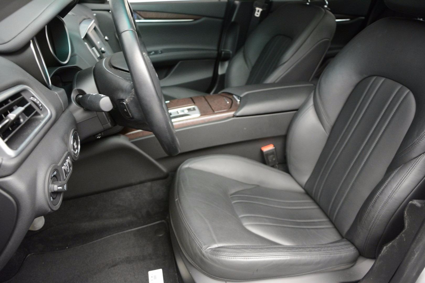 Used 2014 Maserati Ghibli  For Sale In Greenwich, CT. Alfa Romeo of Greenwich, M1836A 1099_p15