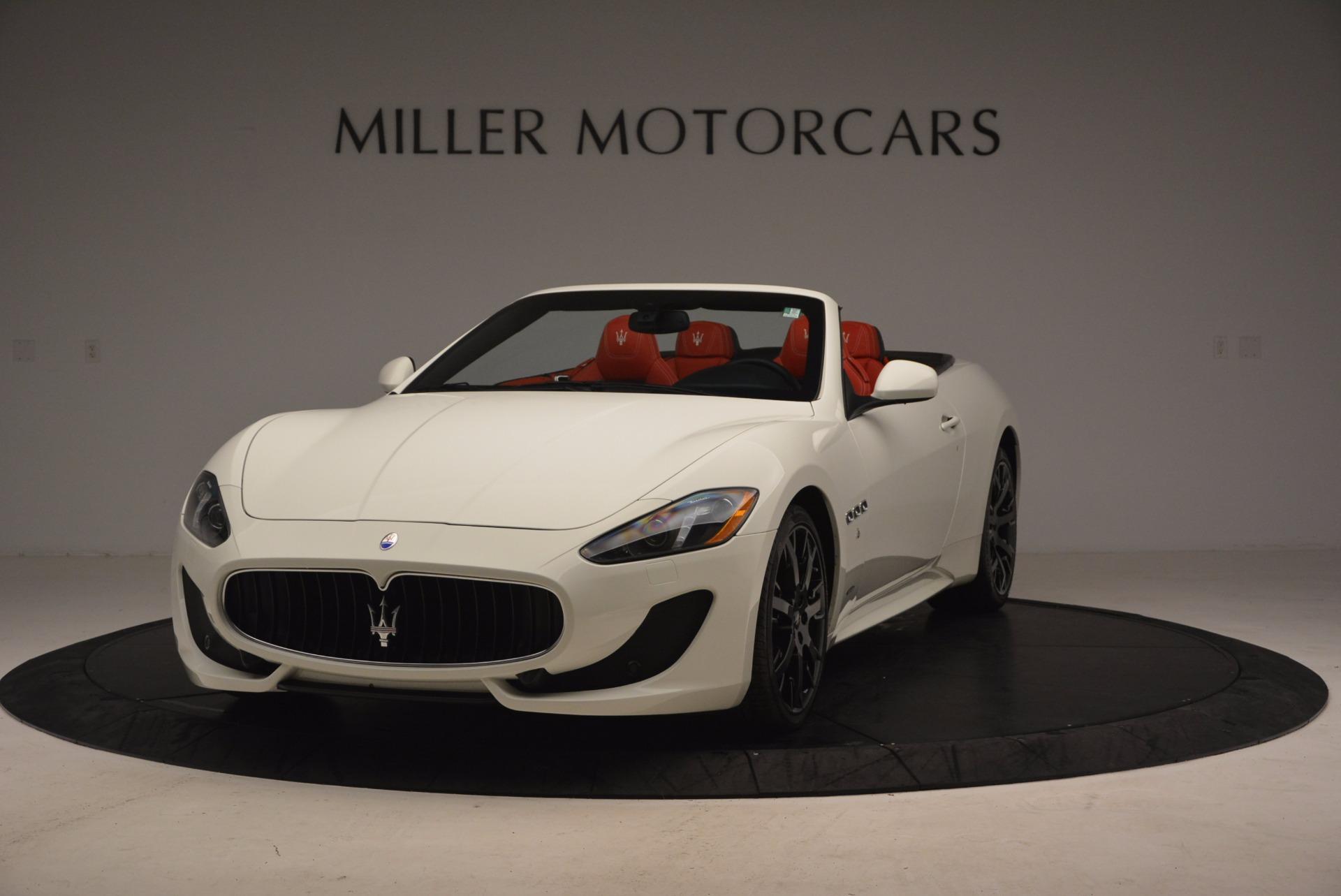 Used 2016 Maserati GranTurismo Sport For Sale In Greenwich, CT. Alfa Romeo of Greenwich, M1702A 1100_main