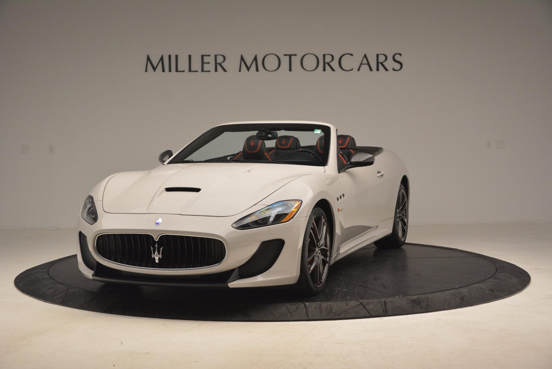 Used 2015 Maserati GranTurismo MC Centennial For Sale In Greenwich, CT. Alfa Romeo of Greenwich, 7187 1107_main