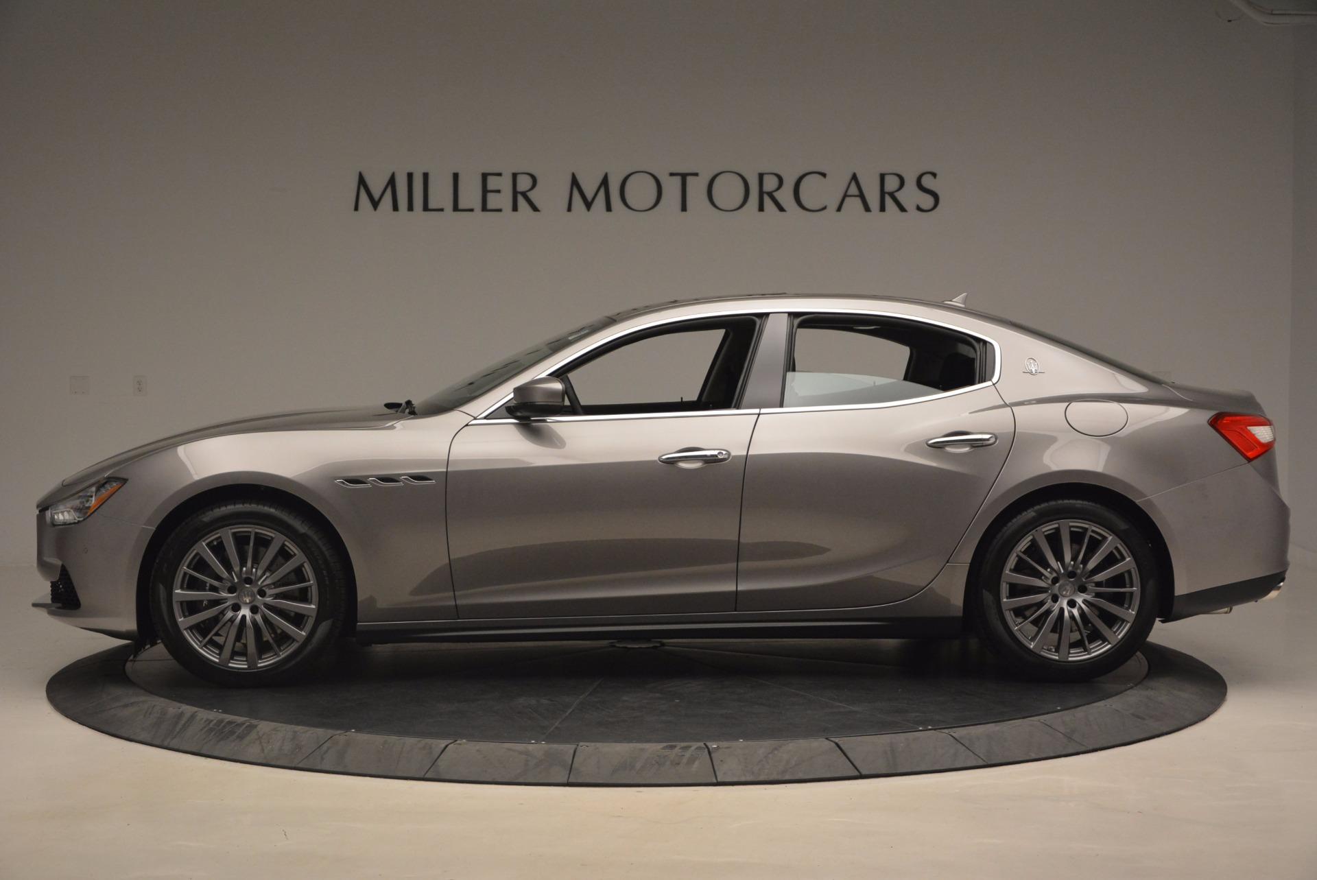 New 2017 Maserati Ghibli SQ4 For Sale In Greenwich, CT. Alfa Romeo of Greenwich, M1855 1109_p3