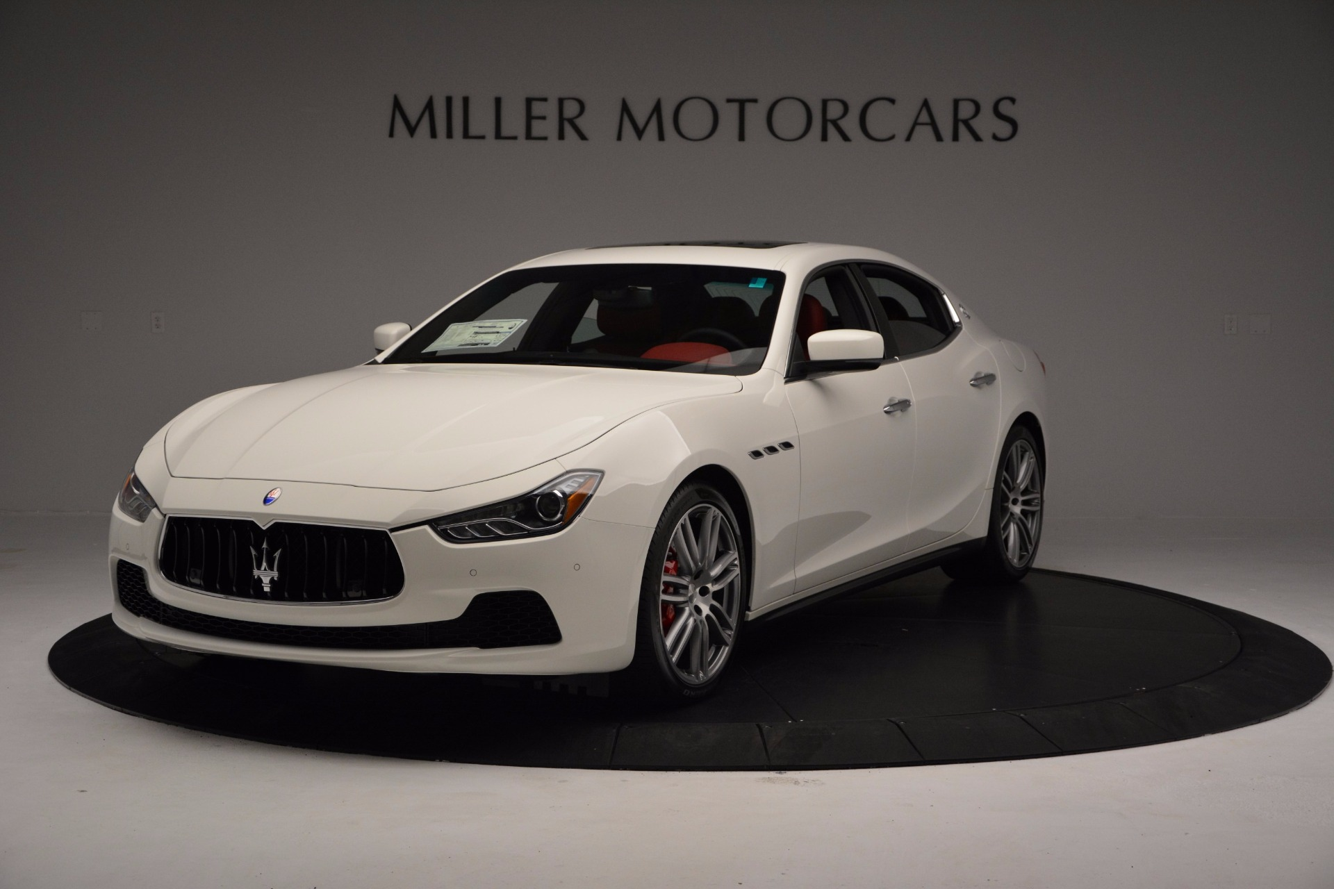 New 2017 Maserati Ghibli S Q4 For Sale In Greenwich, CT. Alfa Romeo of Greenwich, M1857 1111_main