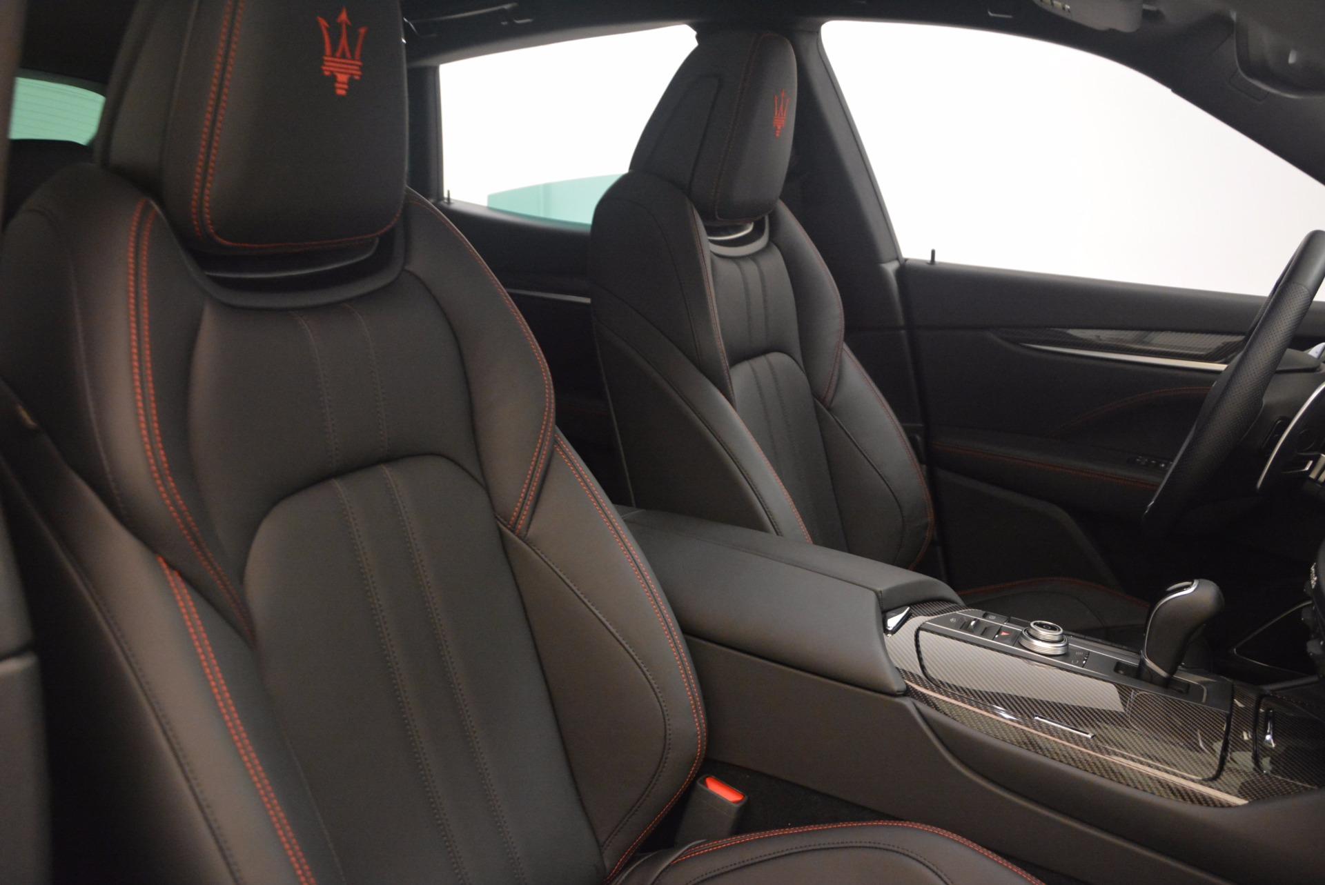 Used 2017 Maserati Levante S For Sale In Greenwich, CT. Alfa Romeo of Greenwich, M1847A 1112_p22