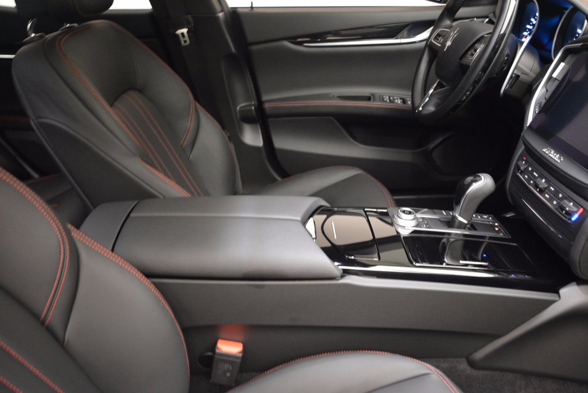 New 2017 Maserati Ghibli S Q4 For Sale In Greenwich, CT. Alfa Romeo of Greenwich, M1861 1113_p19