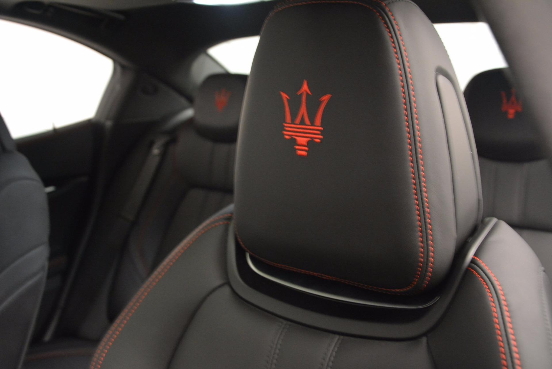 New 2017 Maserati Ghibli S Q4 For Sale In Greenwich, CT. Alfa Romeo of Greenwich, M1860 1114_p16