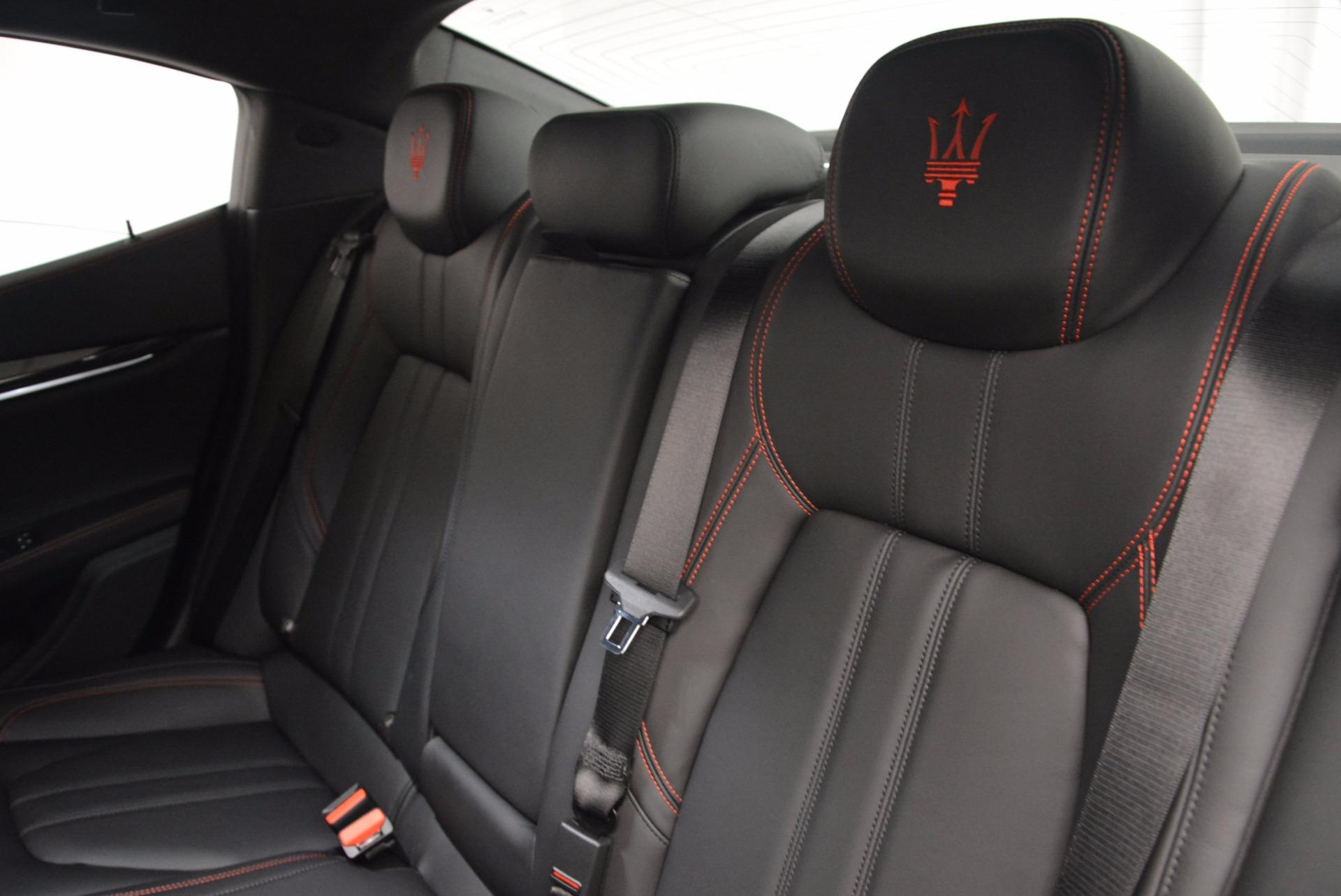 New 2017 Maserati Ghibli S Q4 For Sale In Greenwich, CT. Alfa Romeo of Greenwich, M1860 1114_p19