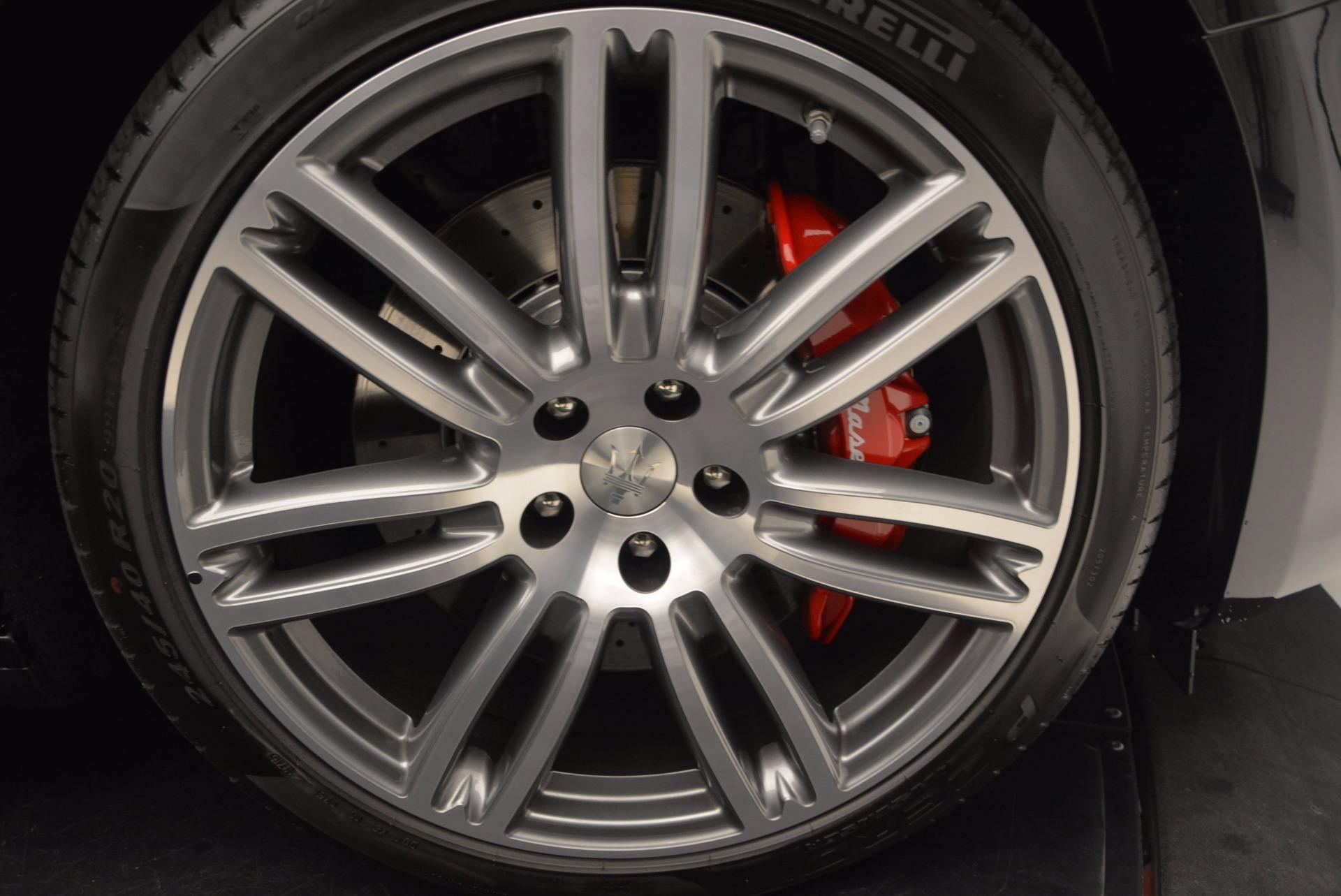 New 2017 Maserati Ghibli S Q4 For Sale In Greenwich, CT. Alfa Romeo of Greenwich, M1860 1114_p29