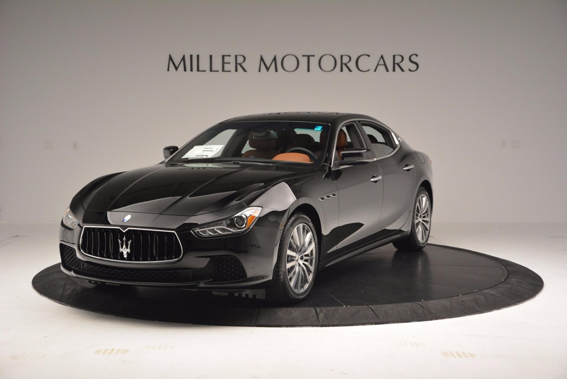 New 2017 Maserati Ghibli S Q4 EX-LOANER For Sale In Greenwich, CT. Alfa Romeo of Greenwich, M1859 1115_main