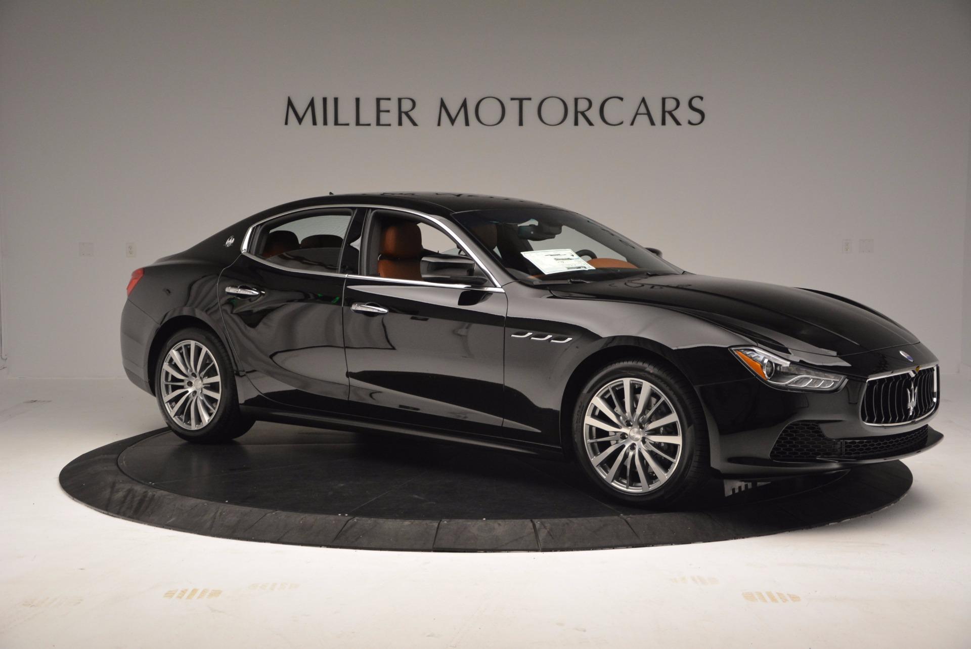 New 2017 Maserati Ghibli S Q4 EX-LOANER For Sale In Greenwich, CT. Alfa Romeo of Greenwich, M1859 1115_p10