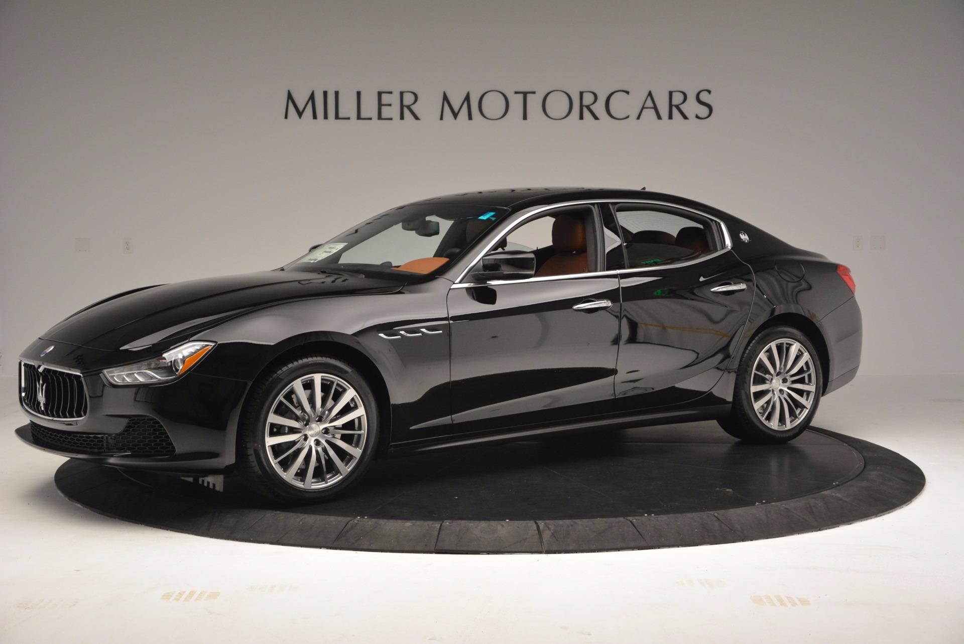 New 2017 Maserati Ghibli S Q4 EX-Loaner For Sale In Greenwich, CT. Alfa Romeo of Greenwich, M1850 1116_p2