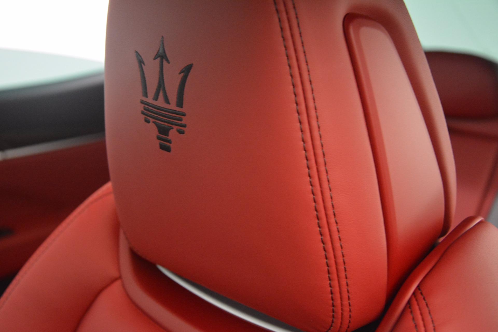 New 2017 Maserati Levante S For Sale In Greenwich, CT. Alfa Romeo of Greenwich, M1851 1117_p19