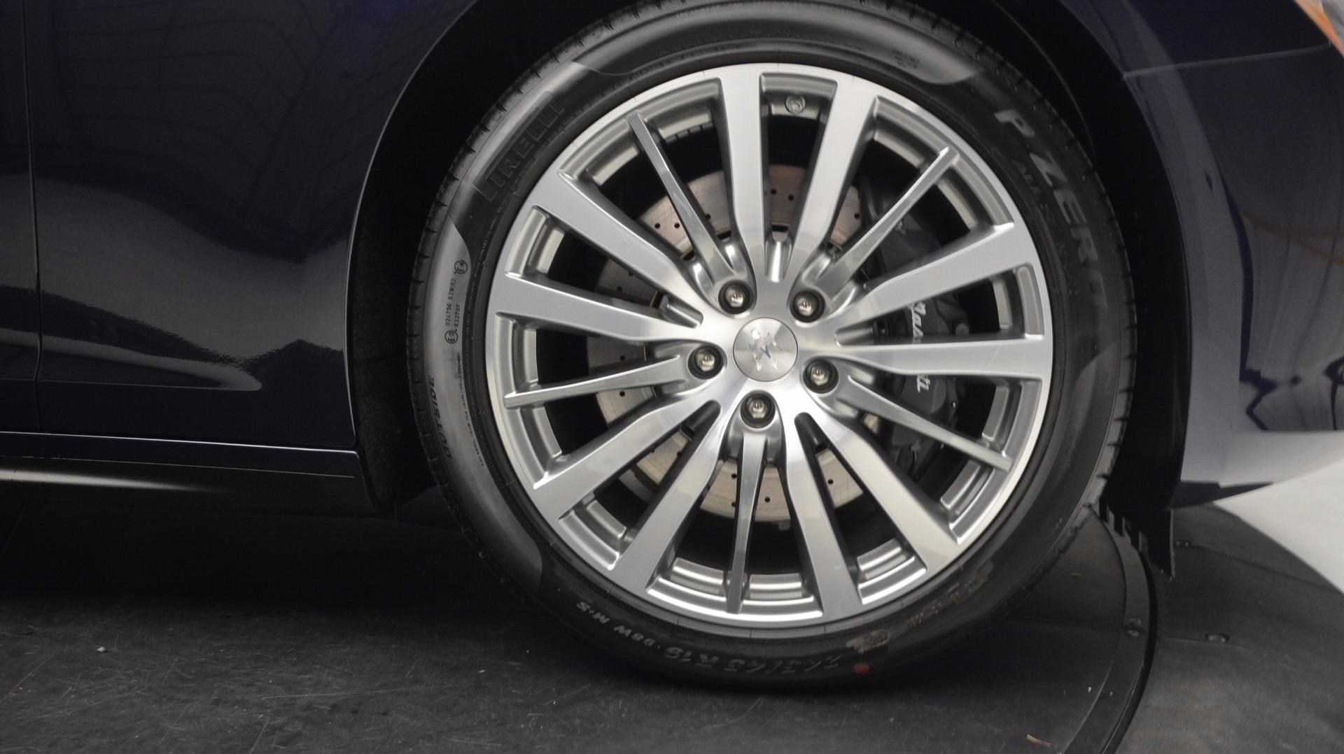 New 2017 Maserati Ghibli S Q4 For Sale In Greenwich, CT. Alfa Romeo of Greenwich, M1854 1119_p13