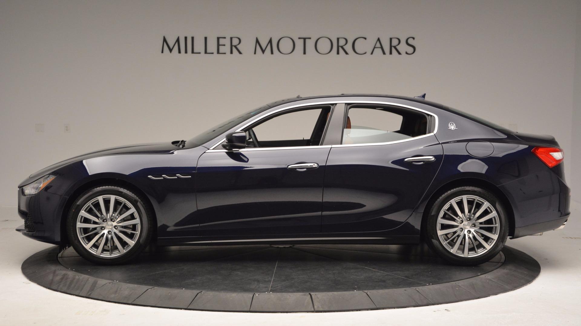New 2017 Maserati Ghibli S Q4 For Sale In Greenwich, CT. Alfa Romeo of Greenwich, M1854 1119_p3