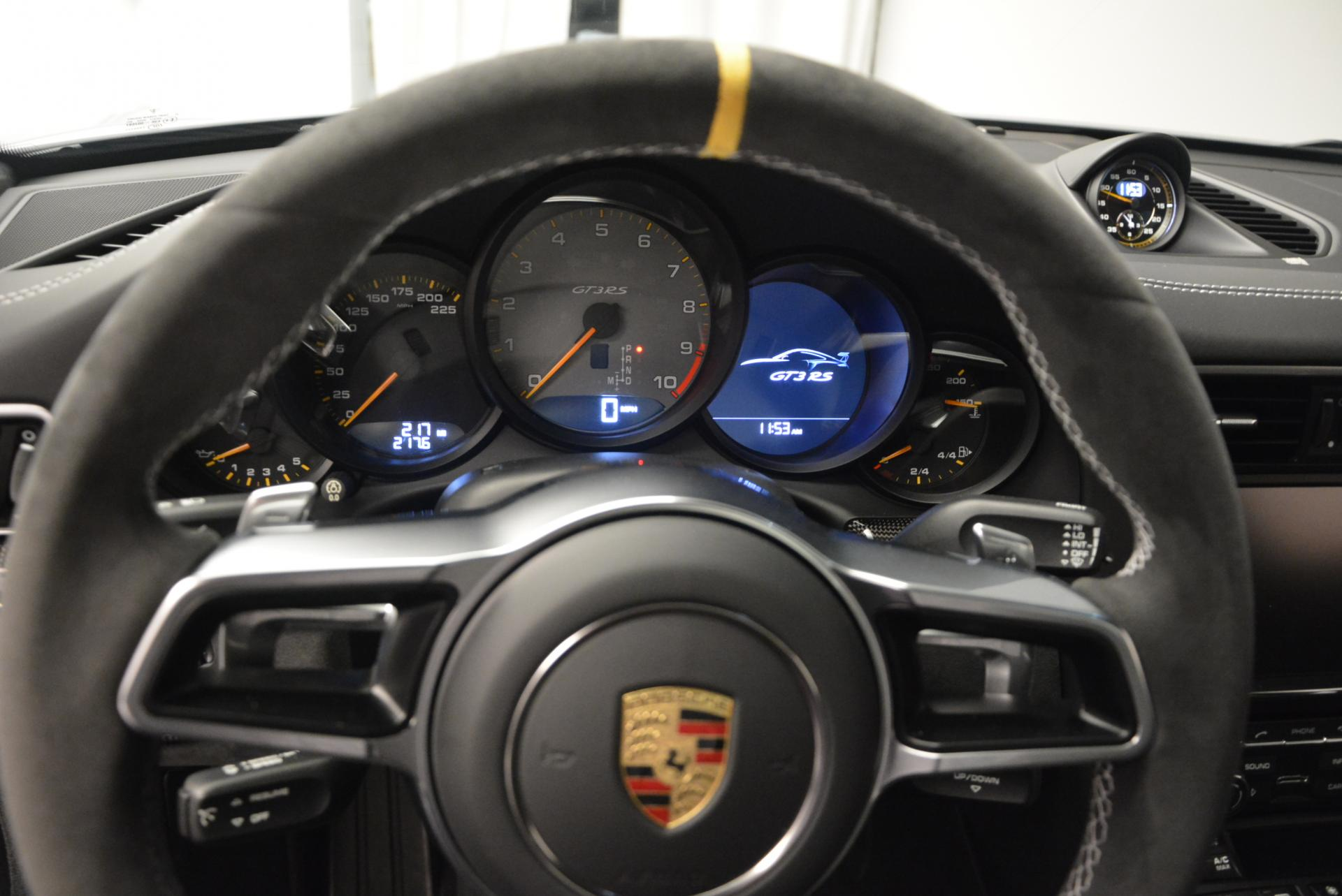 Used 2016 Porsche 911 GT3 RS For Sale In Greenwich, CT. Alfa Romeo of Greenwich, 7025C 112_p16