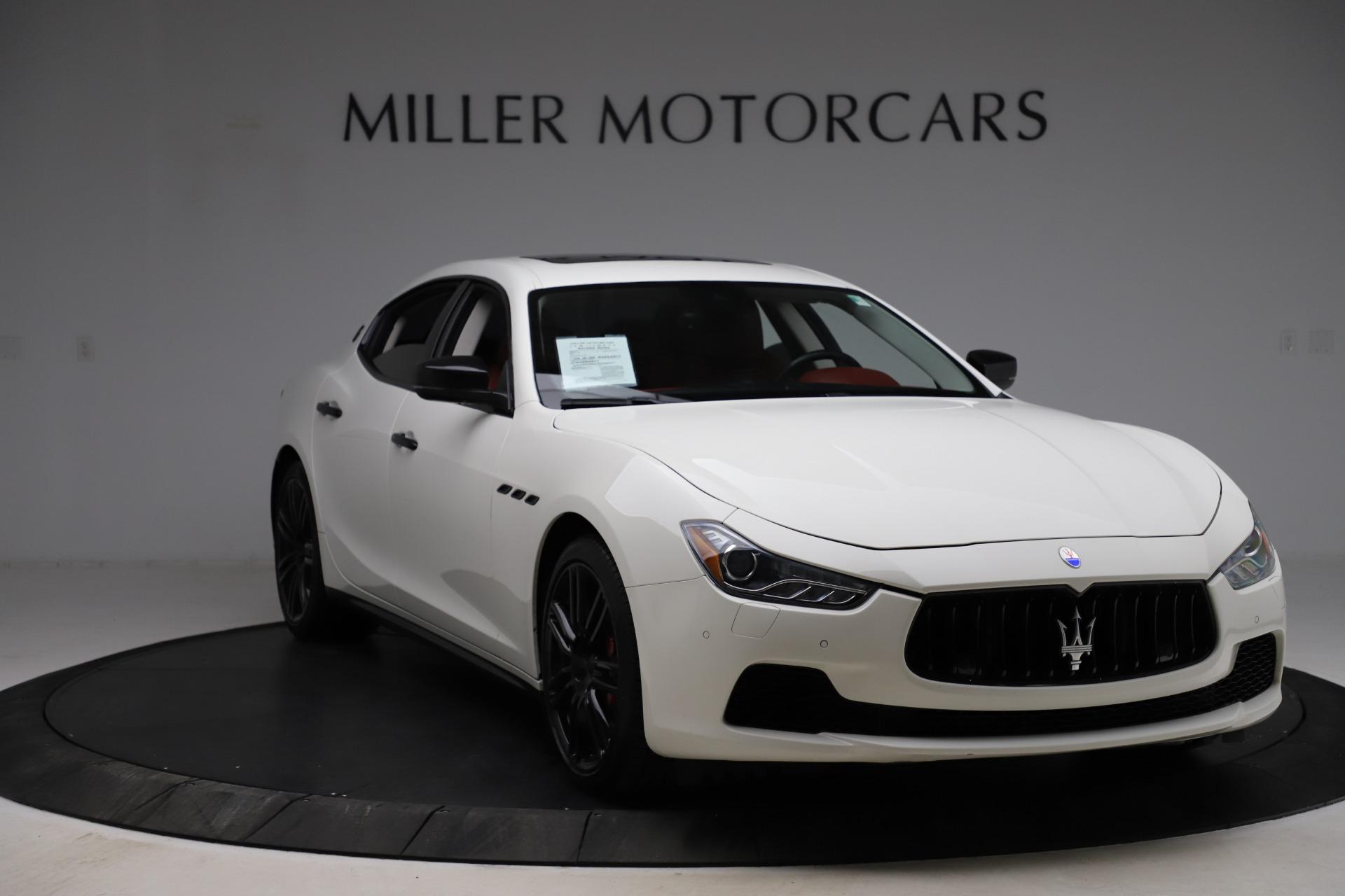 Used 2017 Maserati Ghibli S Q4 For Sale In Greenwich, CT. Alfa Romeo of Greenwich, M1862 1121_p11