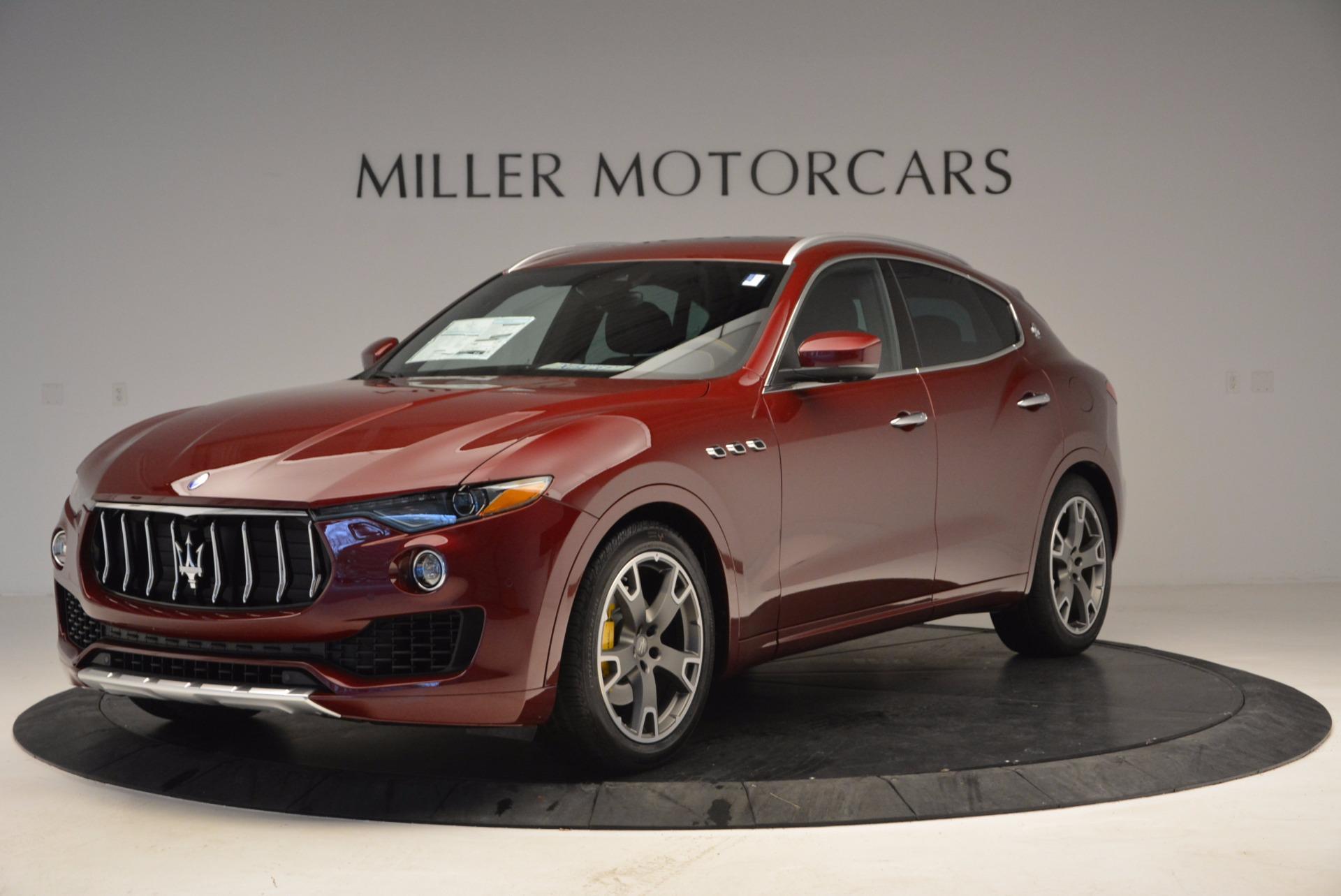 New 2017 Maserati Levante  For Sale In Greenwich, CT. Alfa Romeo of Greenwich, W443 1122_main