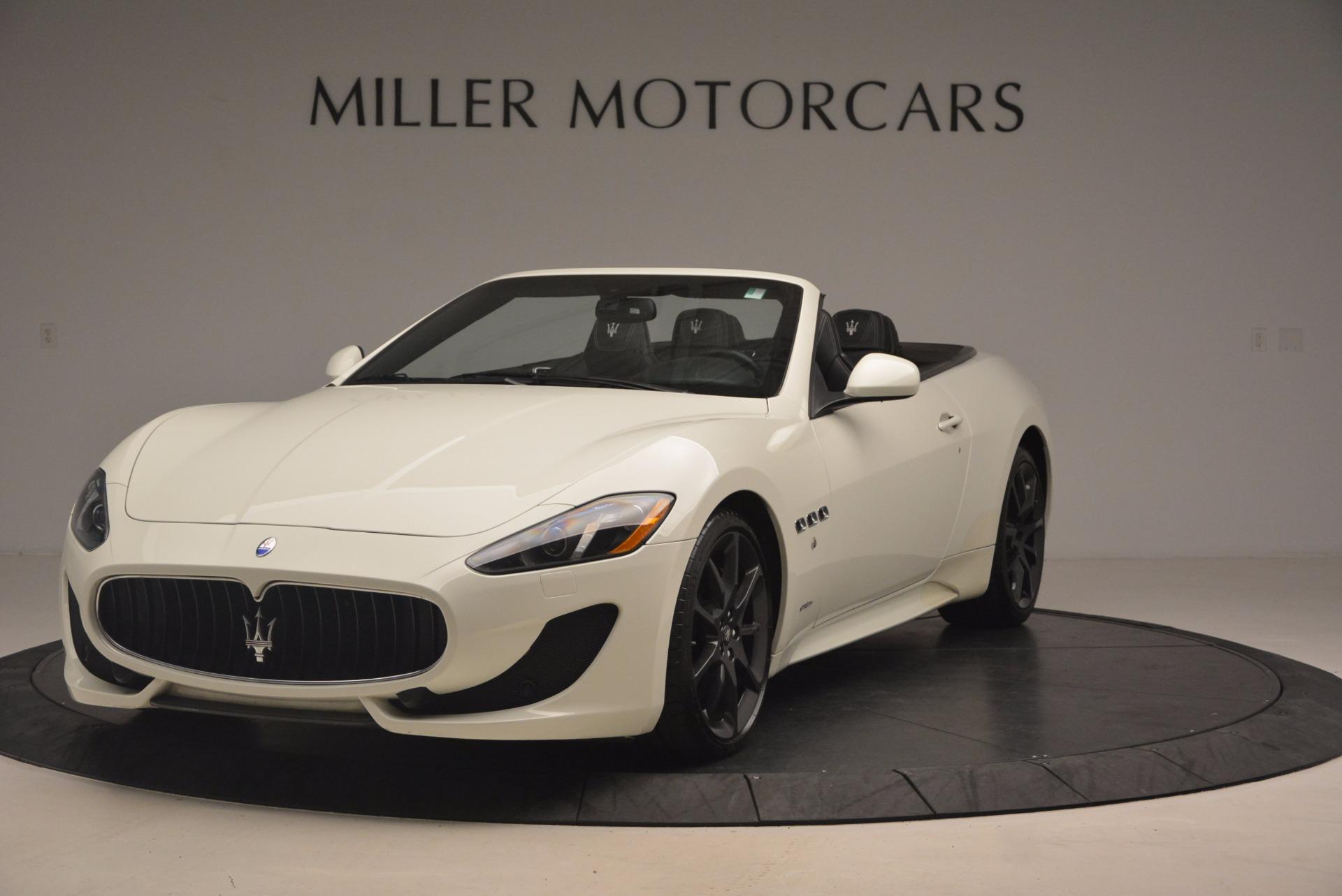 Used 2014 Maserati GranTurismo Sport For Sale In Greenwich, CT. Alfa Romeo of Greenwich, 4374A 1128_main