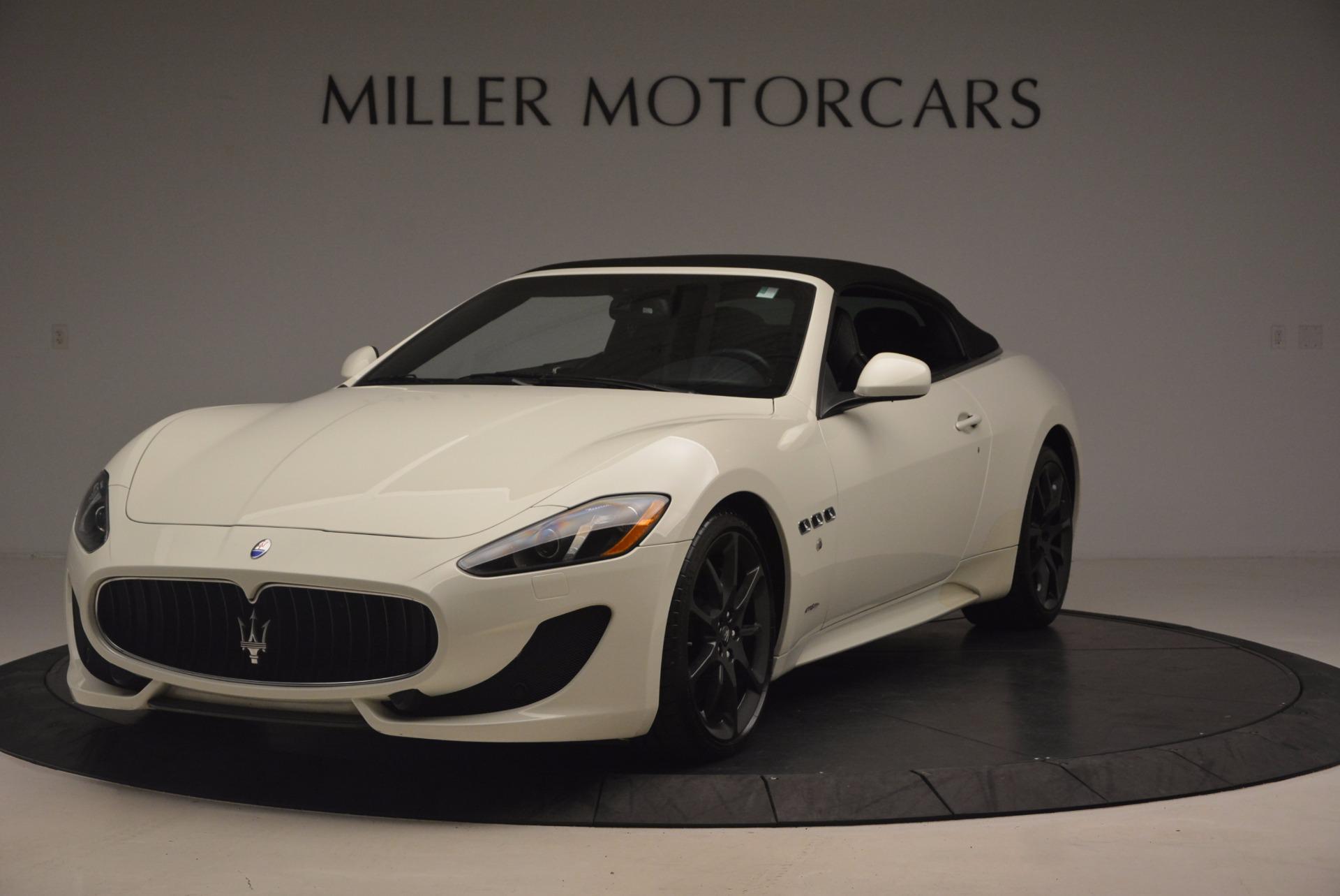 Used 2014 Maserati GranTurismo Sport For Sale In Greenwich, CT. Alfa Romeo of Greenwich, 4374A 1128_p24