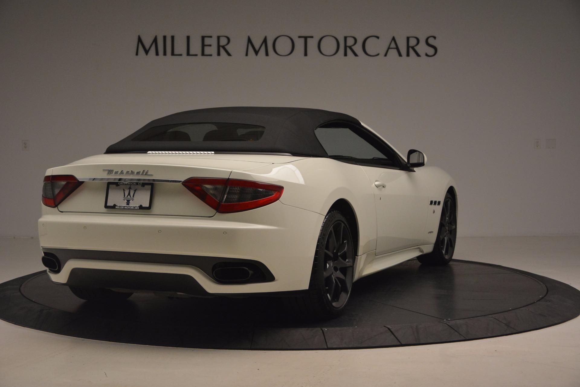 Used 2014 Maserati GranTurismo Sport For Sale In Greenwich, CT. Alfa Romeo of Greenwich, 4374A 1128_p36