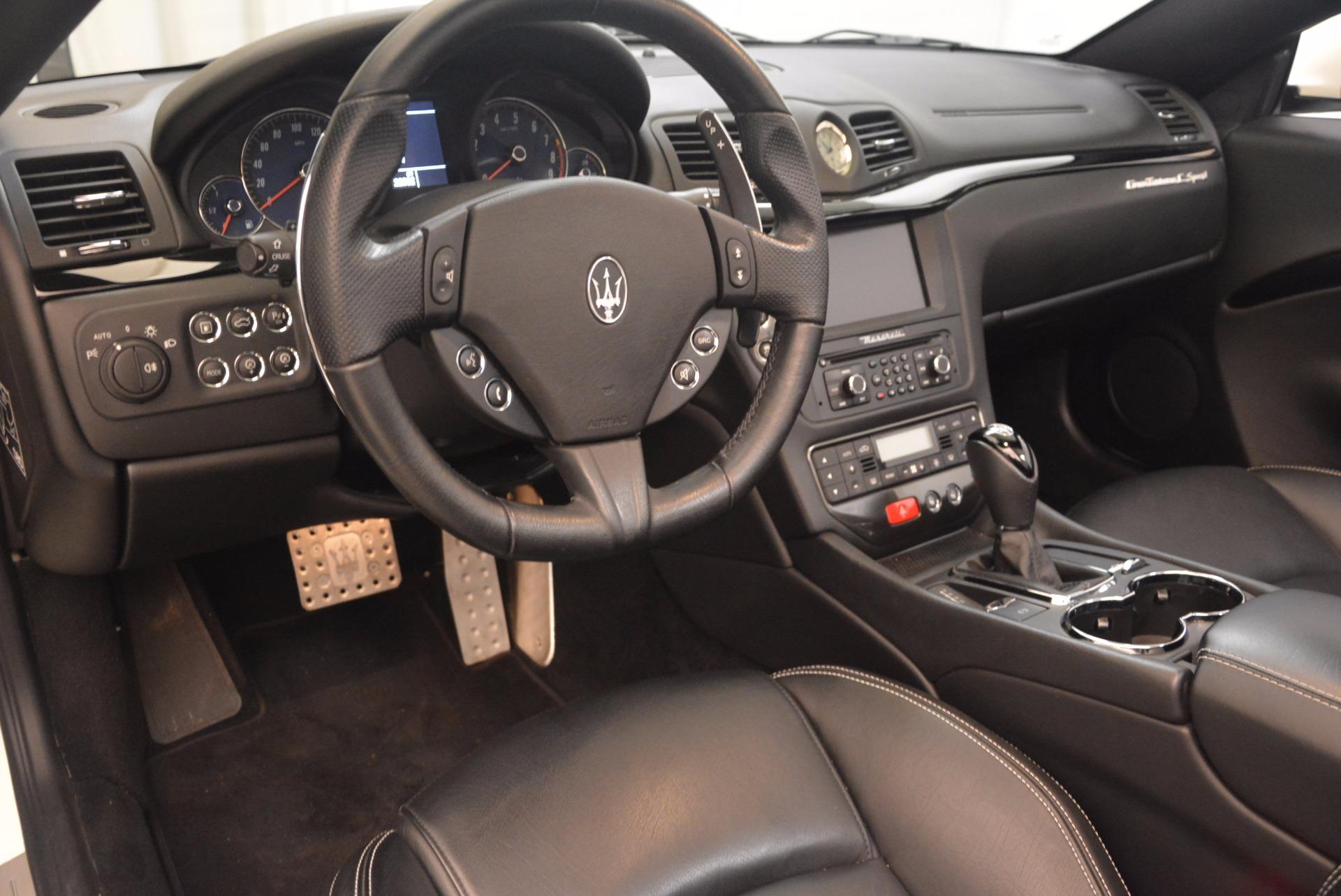 Used 2014 Maserati GranTurismo Sport For Sale In Greenwich, CT. Alfa Romeo of Greenwich, 4374A 1128_p43