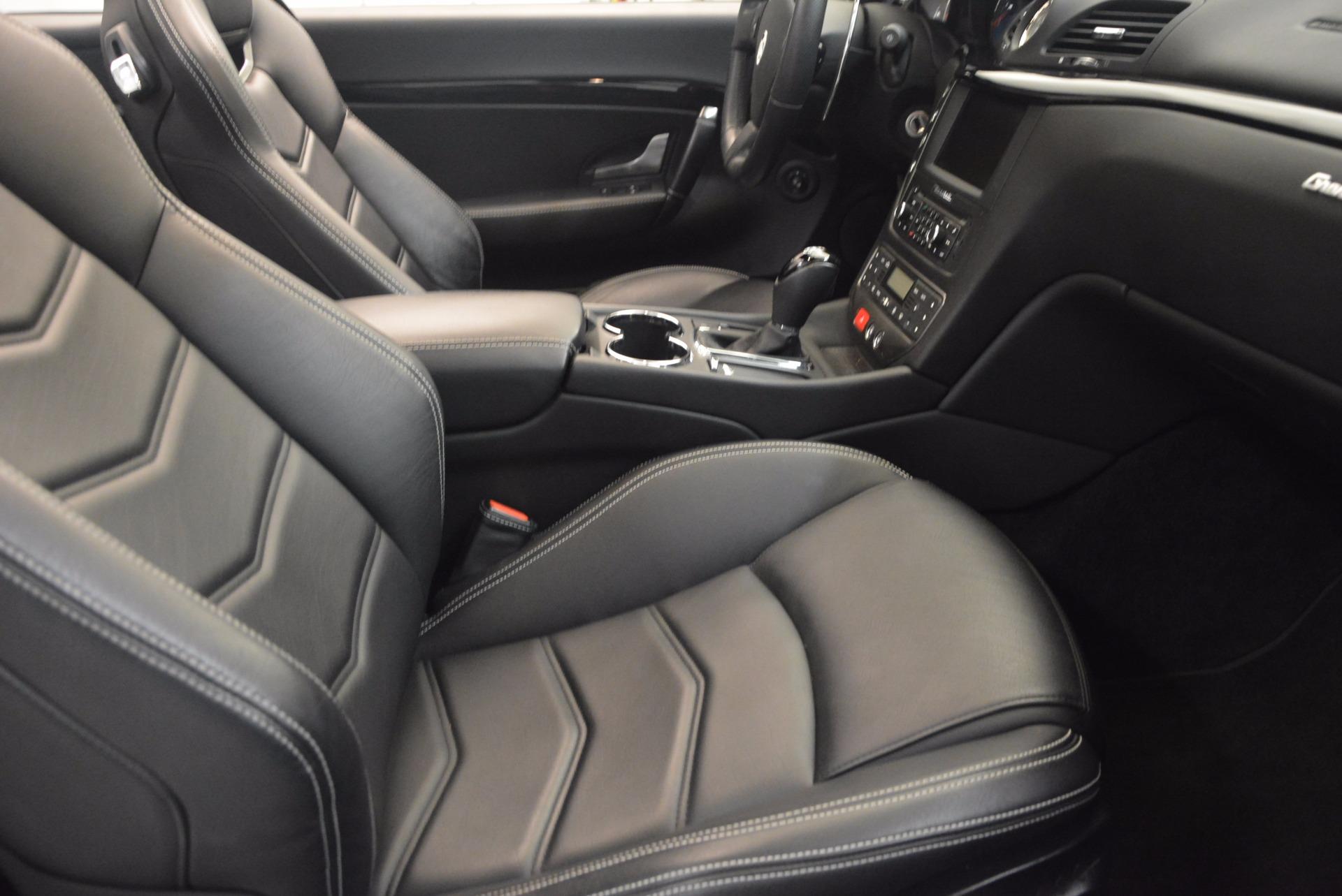 Used 2014 Maserati GranTurismo Sport For Sale In Greenwich, CT. Alfa Romeo of Greenwich, 4374A 1128_p50