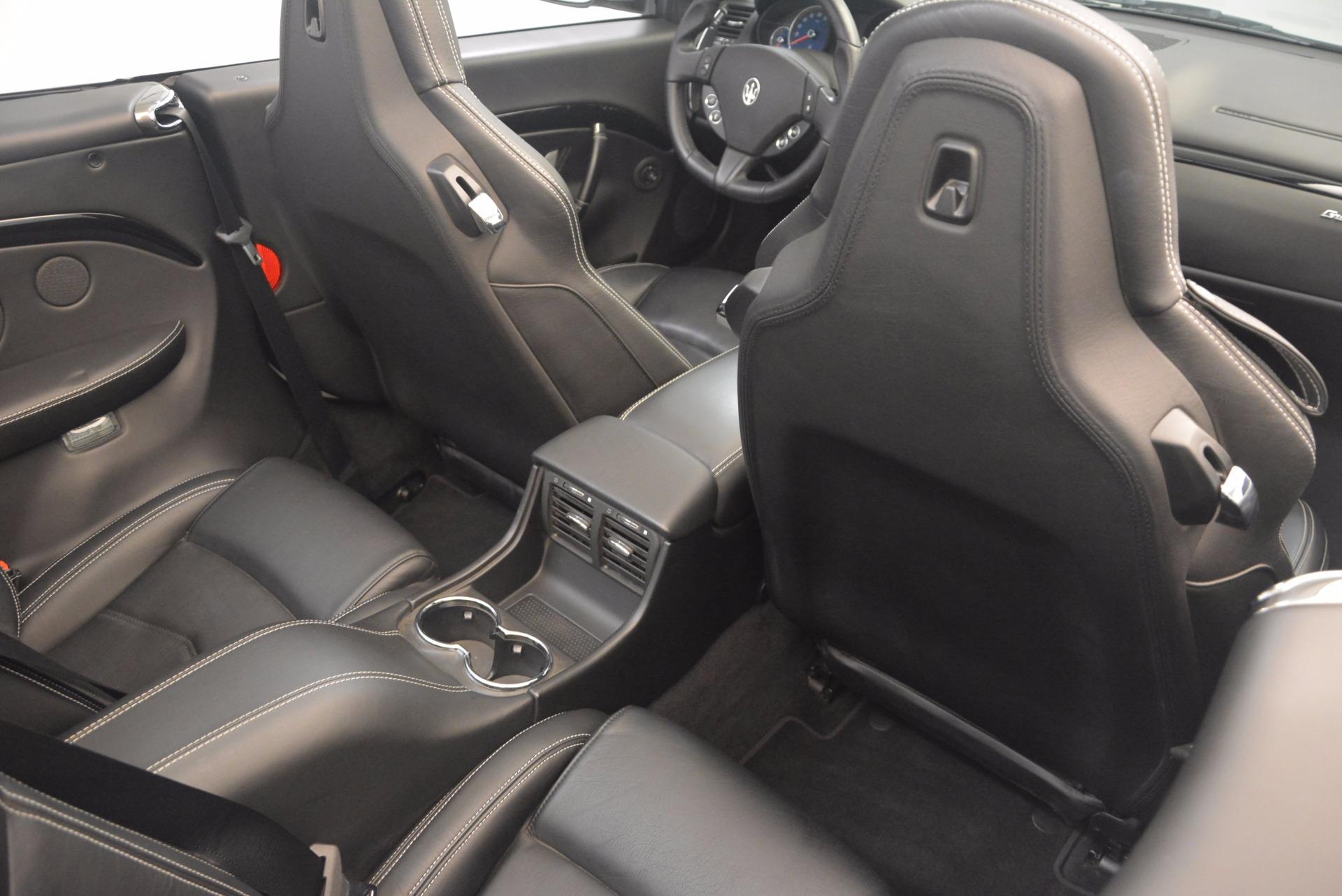 Used 2014 Maserati GranTurismo Sport For Sale In Greenwich, CT. Alfa Romeo of Greenwich, 4374A 1128_p52