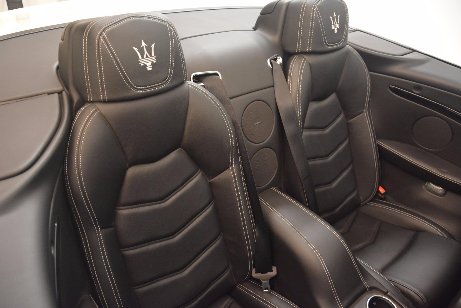 Used 2014 Maserati GranTurismo Sport For Sale In Greenwich, CT. Alfa Romeo of Greenwich, 4374A 1128_p54