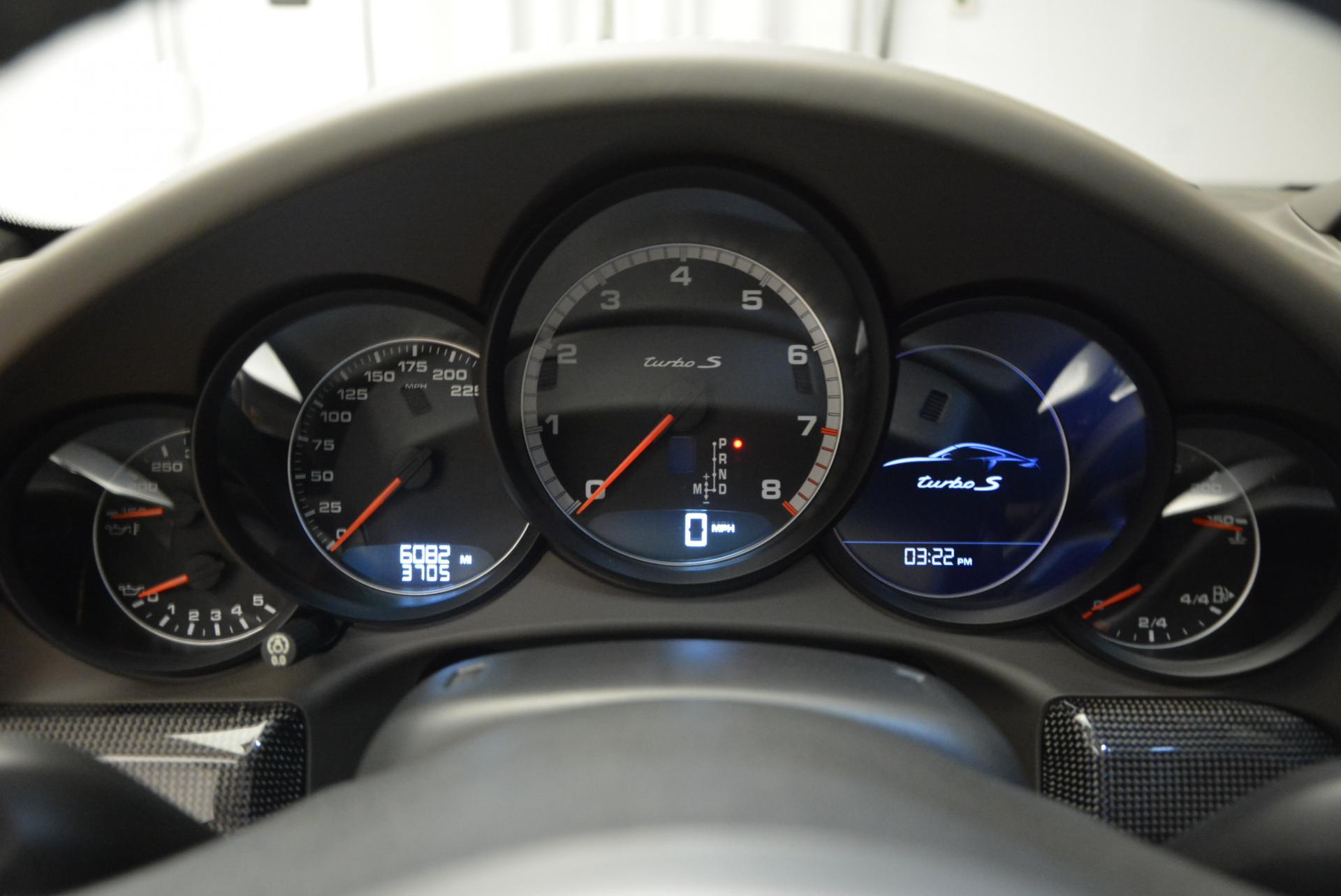 Used 2014 Porsche 911 Turbo S For Sale In Greenwich, CT. Alfa Romeo of Greenwich, W269A 113_p14