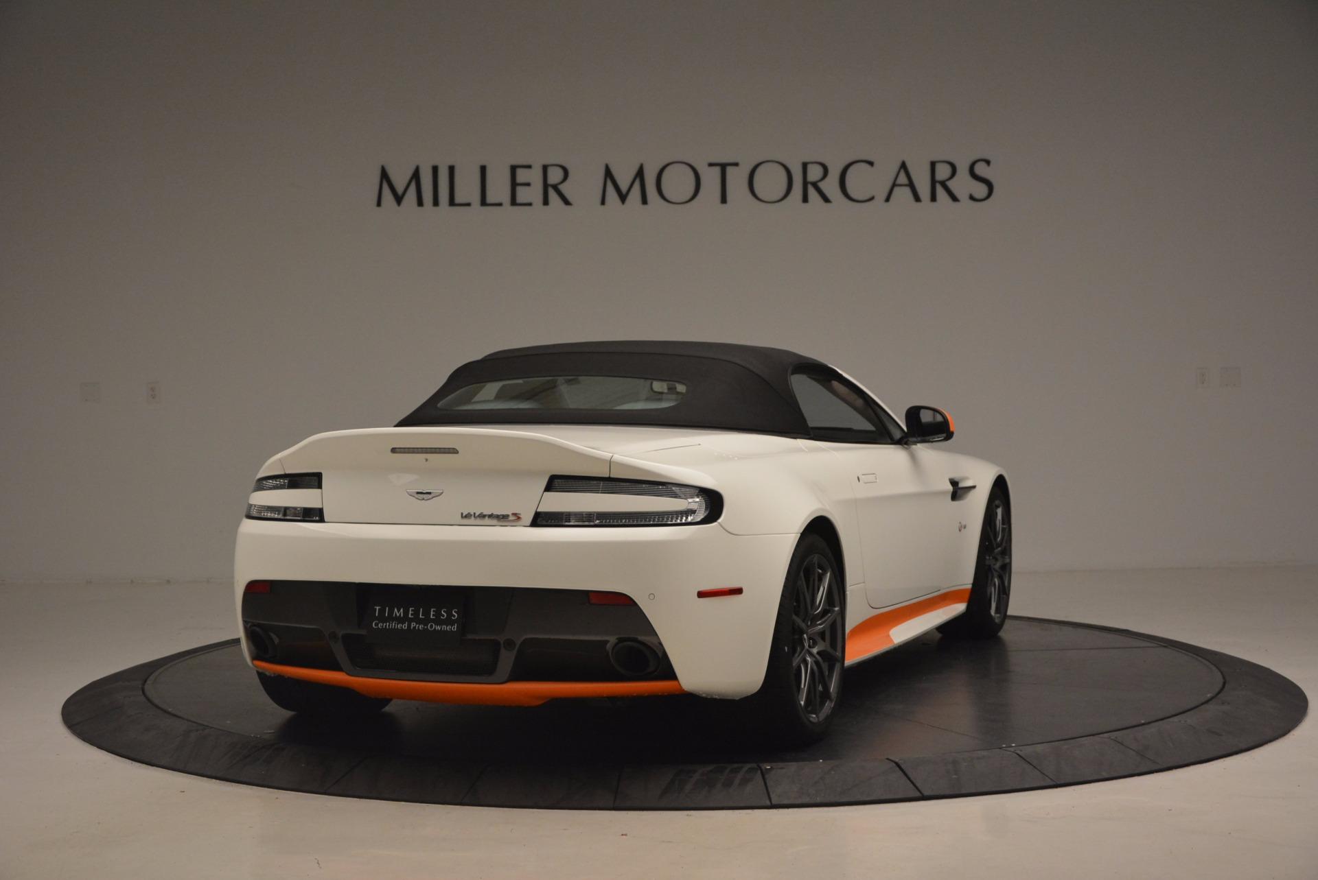 Used 2017 Aston Martin V12 Vantage S Convertible For Sale In Greenwich, CT. Alfa Romeo of Greenwich, 7514 1134_p19