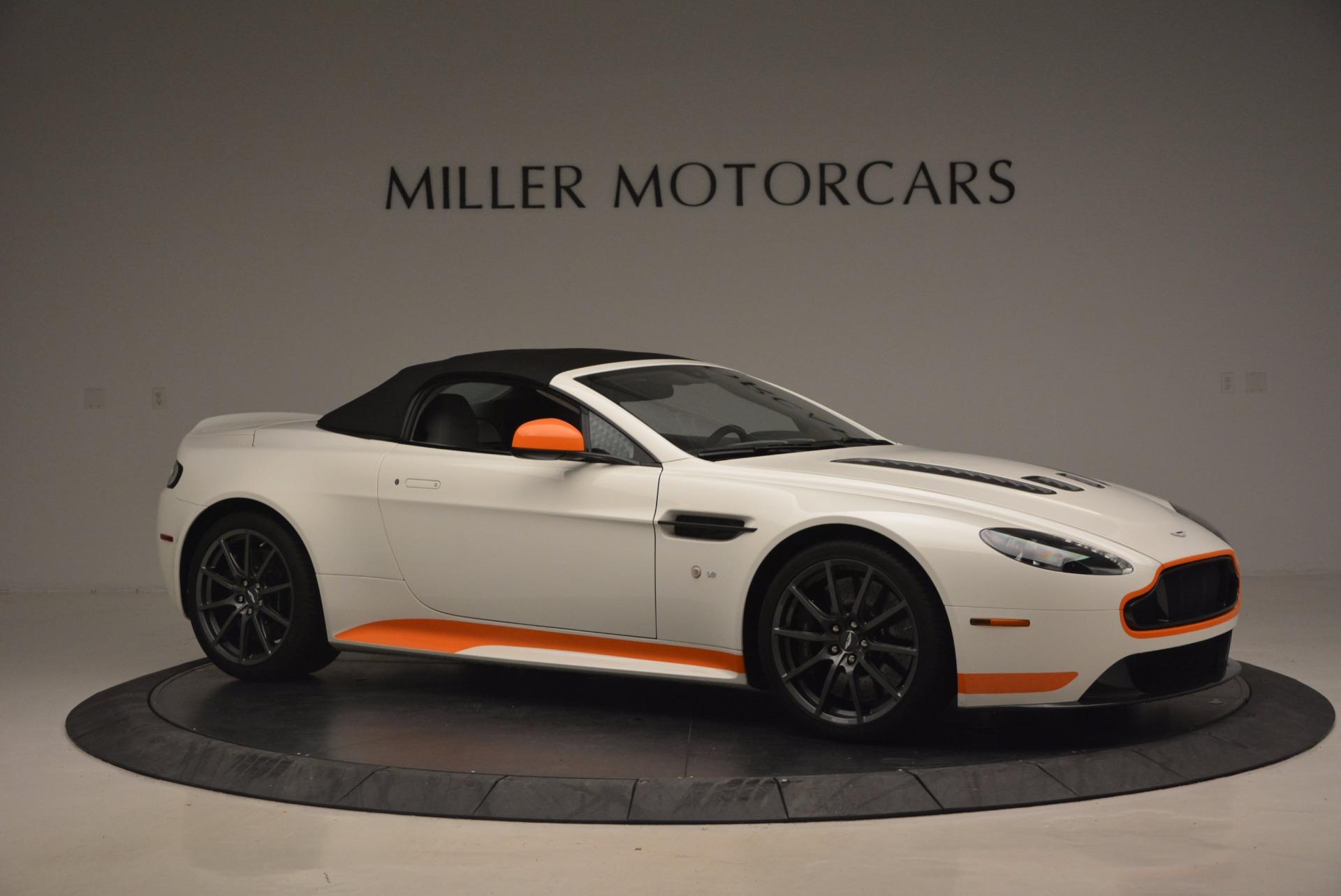 Used 2017 Aston Martin V12 Vantage S Convertible For Sale In Greenwich, CT. Alfa Romeo of Greenwich, 7514 1134_p22