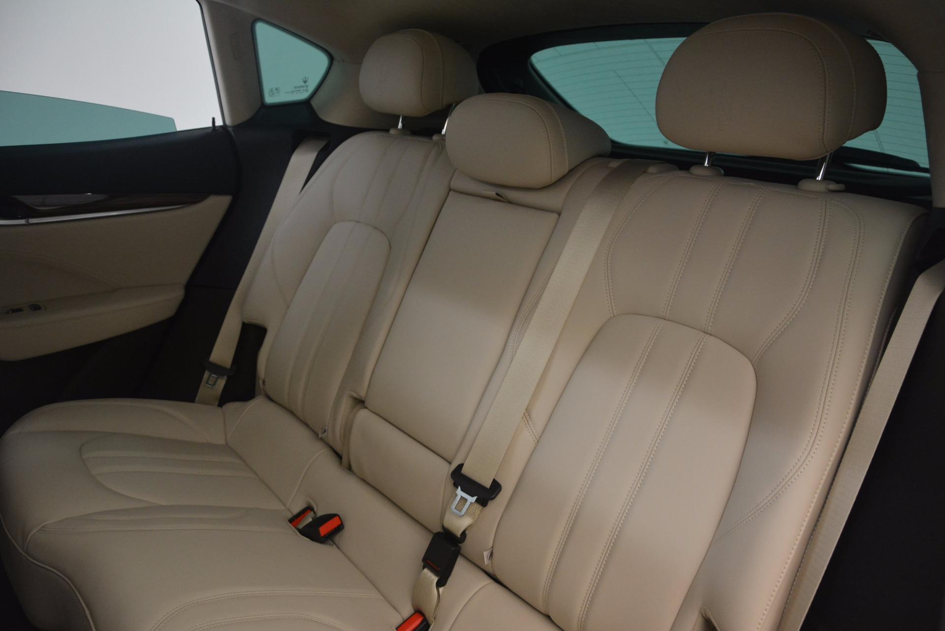 New 2017 Maserati Levante  For Sale In Greenwich, CT. Alfa Romeo of Greenwich, M1867 1144_p19