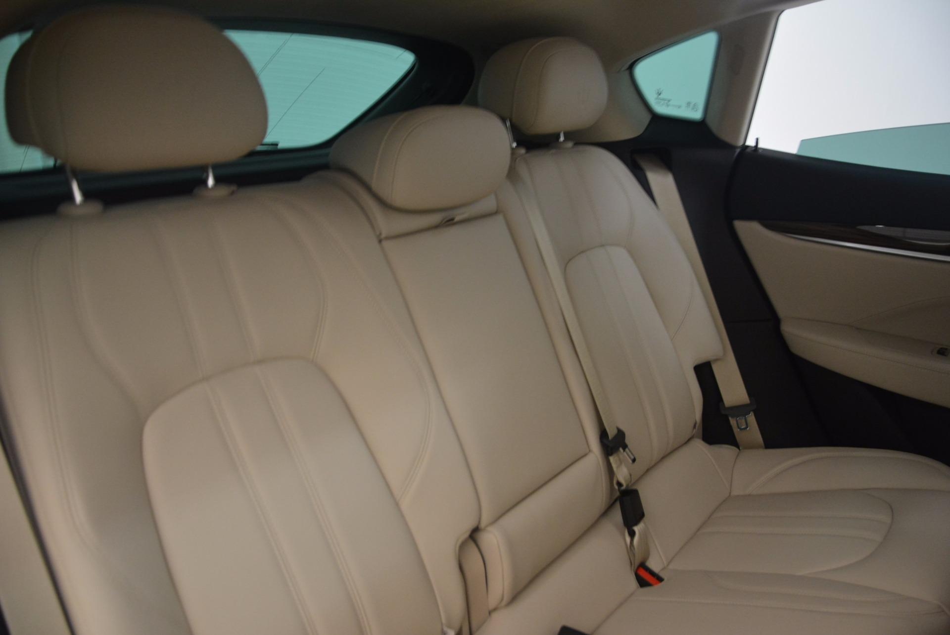 New 2017 Maserati Levante  For Sale In Greenwich, CT. Alfa Romeo of Greenwich, M1867 1144_p24