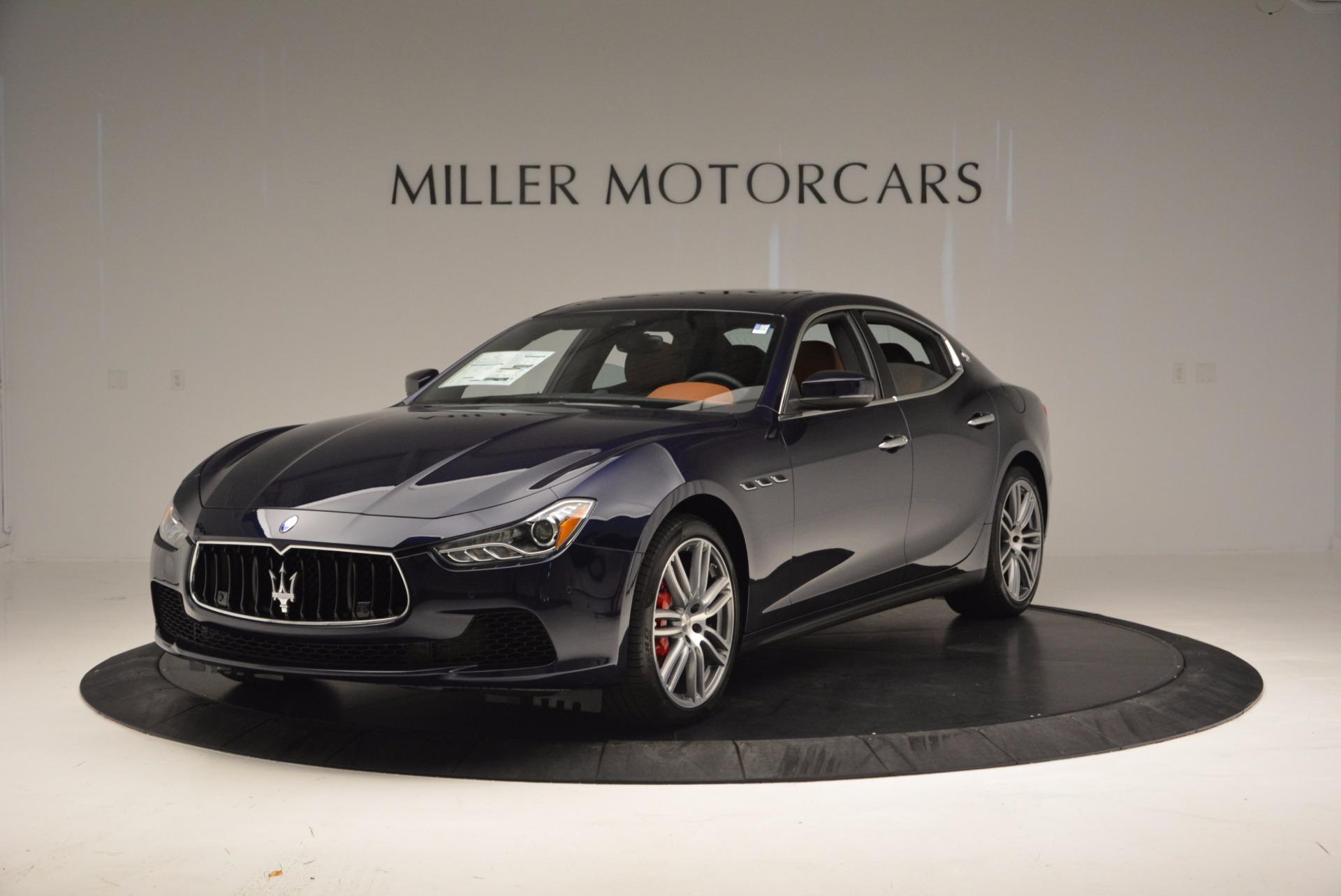 New 2017 Maserati Ghibli S Q4 For Sale In Greenwich, CT. Alfa Romeo of Greenwich, M1869 1153_main
