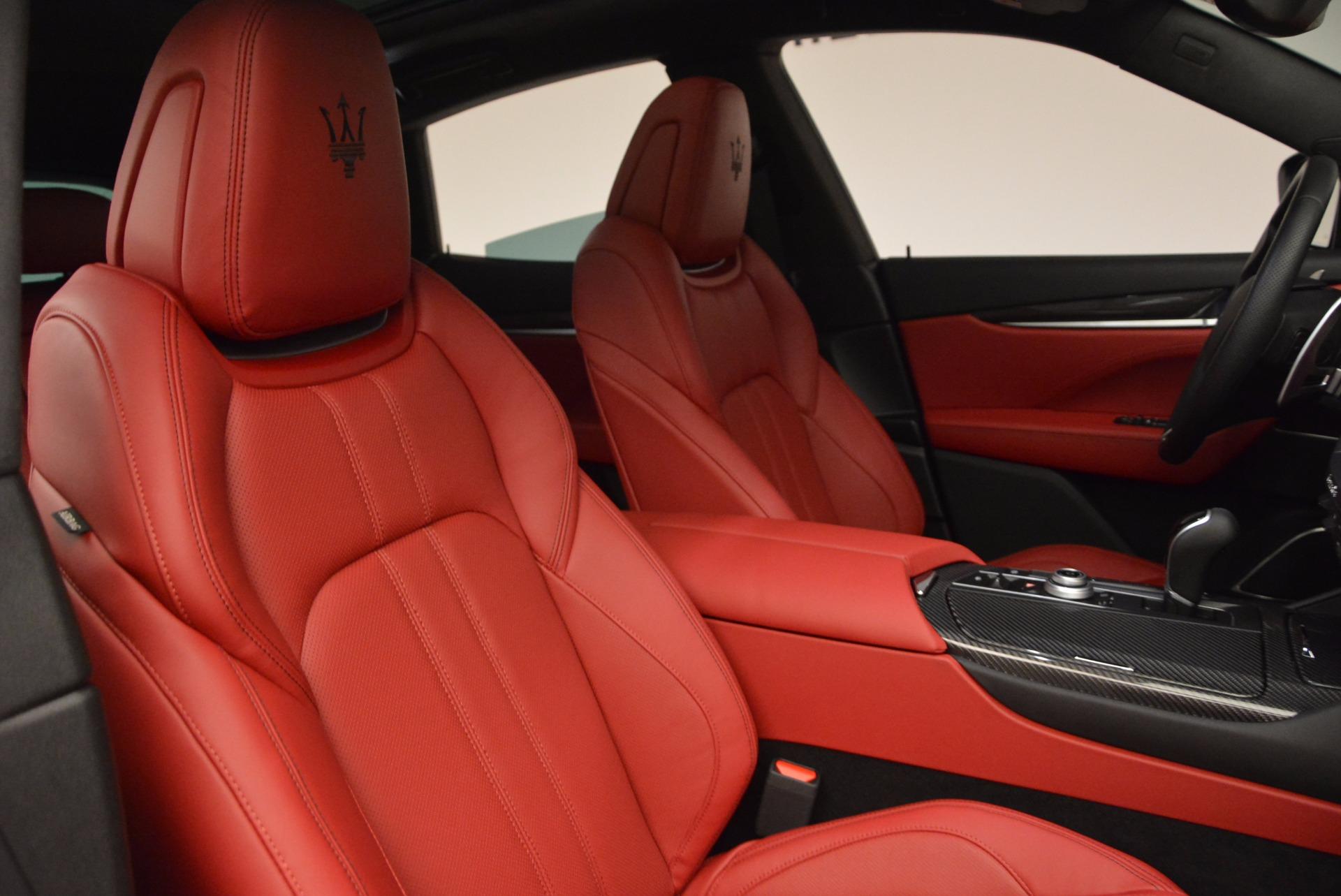 New 2017 Maserati Levante S For Sale In Greenwich, CT. Alfa Romeo of Greenwich, W456 1156_p19