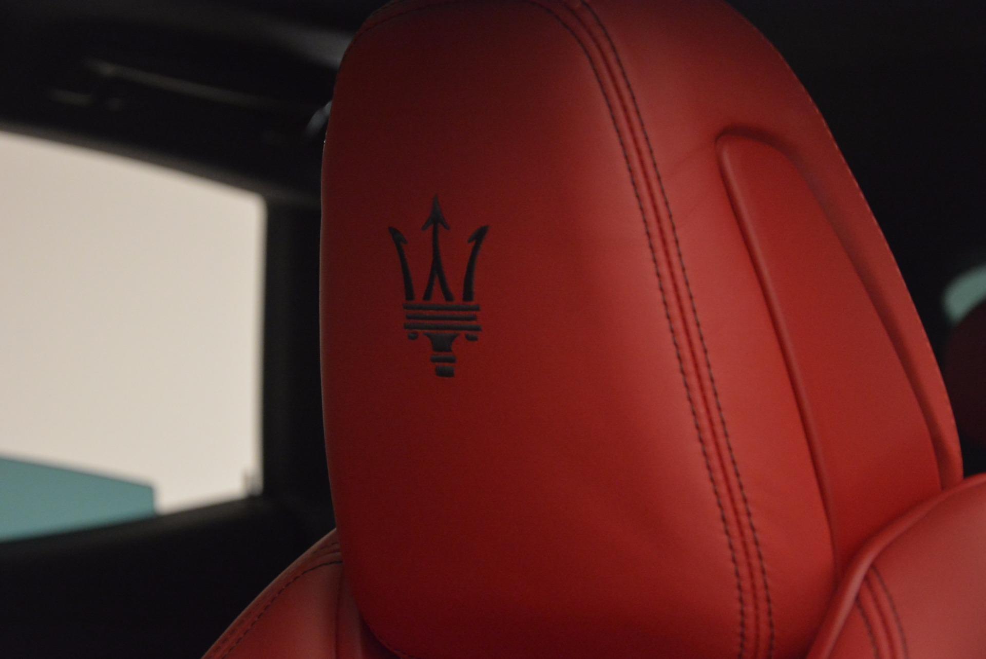 New 2017 Maserati Levante S For Sale In Greenwich, CT. Alfa Romeo of Greenwich, W456 1156_p20